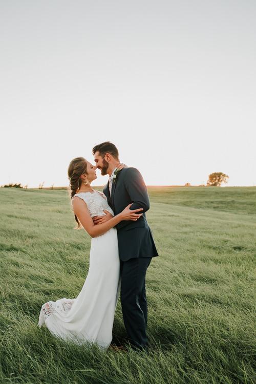 Cassidy & Isaac - Married - Nathaniel Jensen Photography - Omaha Nebraska Wedding Photograper - Nordstroms Christmas Tree Farm-337.jpg