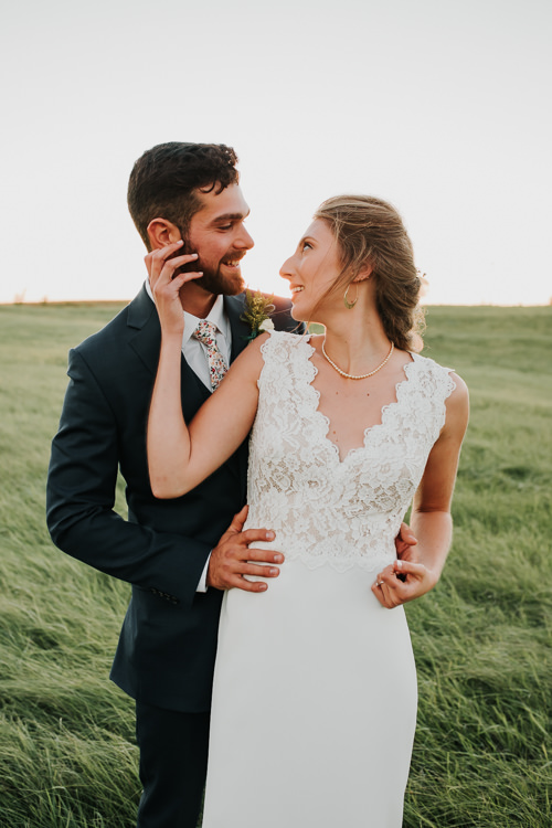 Cassidy & Isaac - Married - Nathaniel Jensen Photography - Omaha Nebraska Wedding Photograper - Nordstroms Christmas Tree Farm-339.jpg