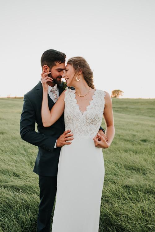 Cassidy & Isaac - Married - Nathaniel Jensen Photography - Omaha Nebraska Wedding Photograper - Nordstroms Christmas Tree Farm-341.jpg