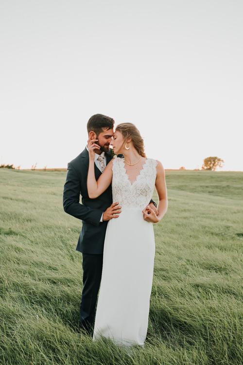 Cassidy & Isaac - Married - Nathaniel Jensen Photography - Omaha Nebraska Wedding Photograper - Nordstroms Christmas Tree Farm-342.jpg