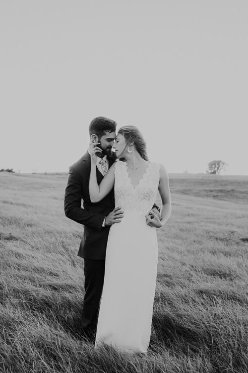 Cassidy & Isaac - Married - Nathaniel Jensen Photography - Omaha Nebraska Wedding Photograper - Nordstroms Christmas Tree Farm-343.jpg