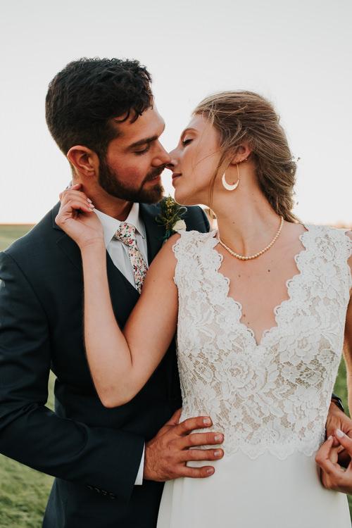 Cassidy & Isaac - Married - Nathaniel Jensen Photography - Omaha Nebraska Wedding Photograper - Nordstroms Christmas Tree Farm-344.jpg