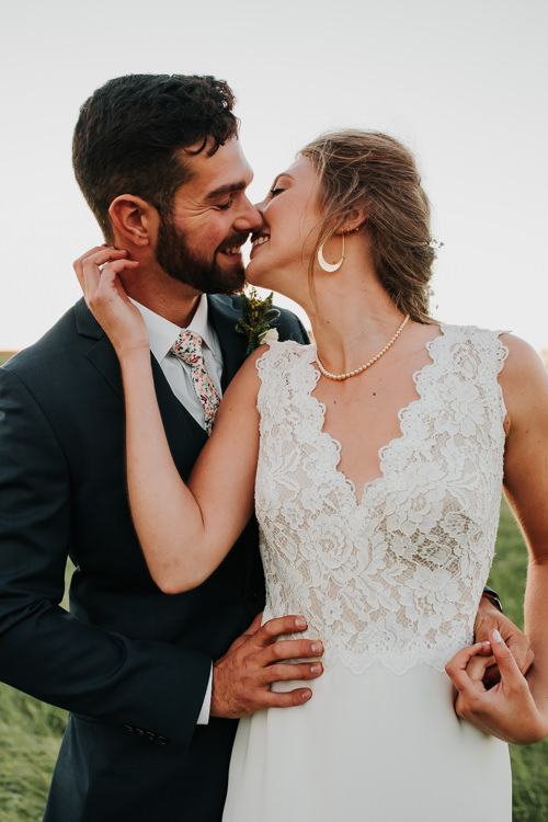 Cassidy & Isaac - Married - Nathaniel Jensen Photography - Omaha Nebraska Wedding Photograper - Nordstroms Christmas Tree Farm-345.jpg