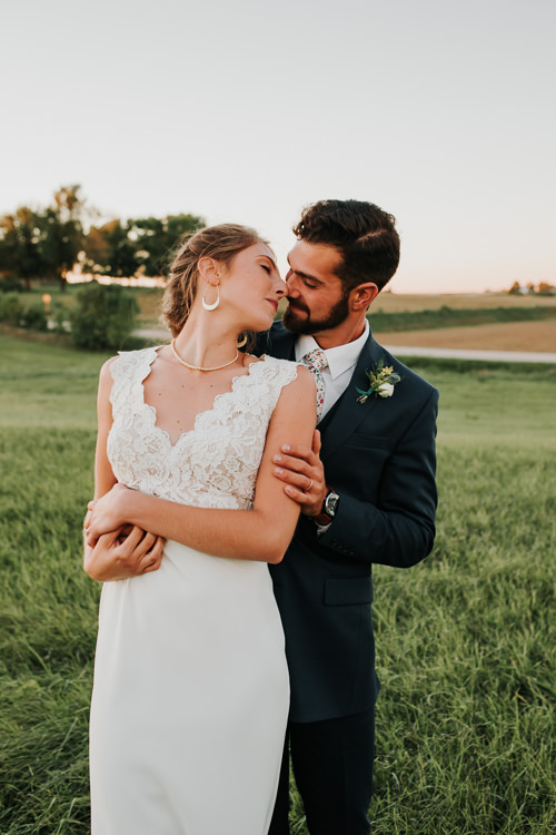 Cassidy & Isaac - Married - Nathaniel Jensen Photography - Omaha Nebraska Wedding Photograper - Nordstroms Christmas Tree Farm-352.jpg
