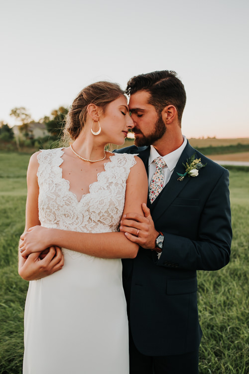 Cassidy & Isaac - Married - Nathaniel Jensen Photography - Omaha Nebraska Wedding Photograper - Nordstroms Christmas Tree Farm-353.jpg