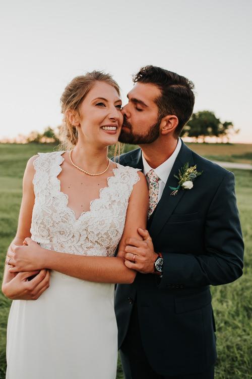 Cassidy & Isaac - Married - Nathaniel Jensen Photography - Omaha Nebraska Wedding Photograper - Nordstroms Christmas Tree Farm-354.jpg