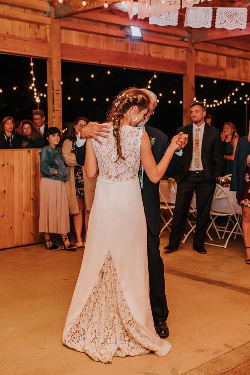 Cassidy & Isaac - Married - Nathaniel Jensen Photography - Omaha Nebraska Wedding Photograper - Nordstroms Christmas Tree Farm-437.jpg