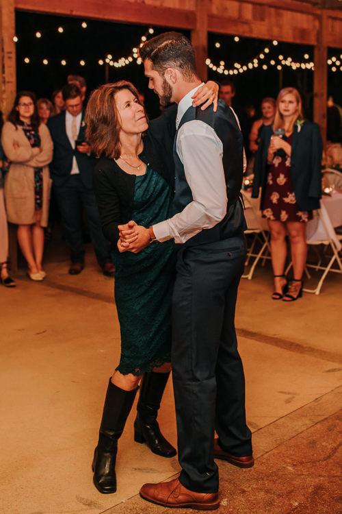 Cassidy & Isaac - Married - Nathaniel Jensen Photography - Omaha Nebraska Wedding Photograper - Nordstroms Christmas Tree Farm-442.jpg