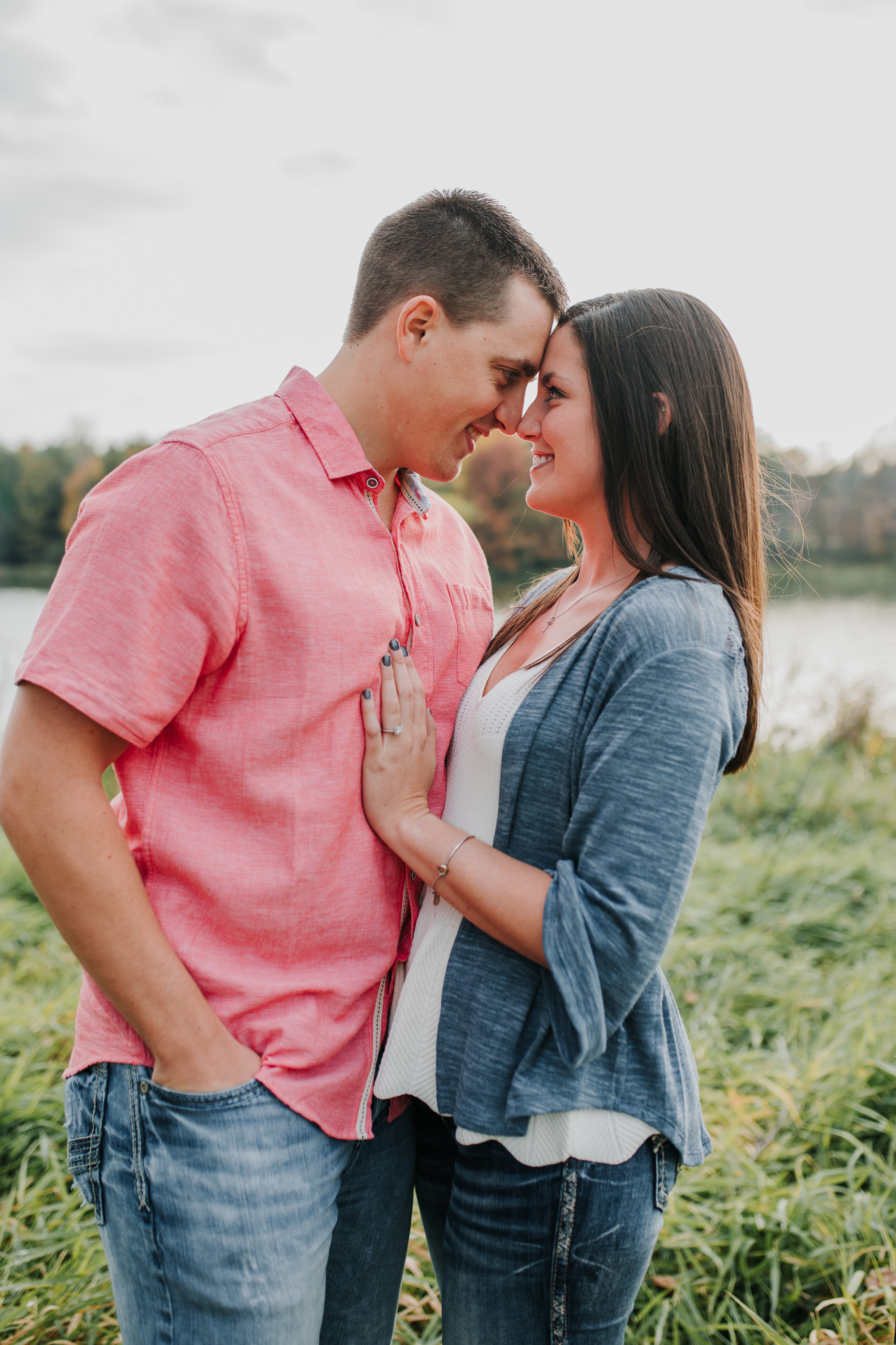 Hannah & Brett - Engaged - Nathaniel Jensen Photography - Omaha Nebraska Wedding Photograper - Omaha Nebraska Engagement Session - Chalco Hills Engagement Session-4.jpg