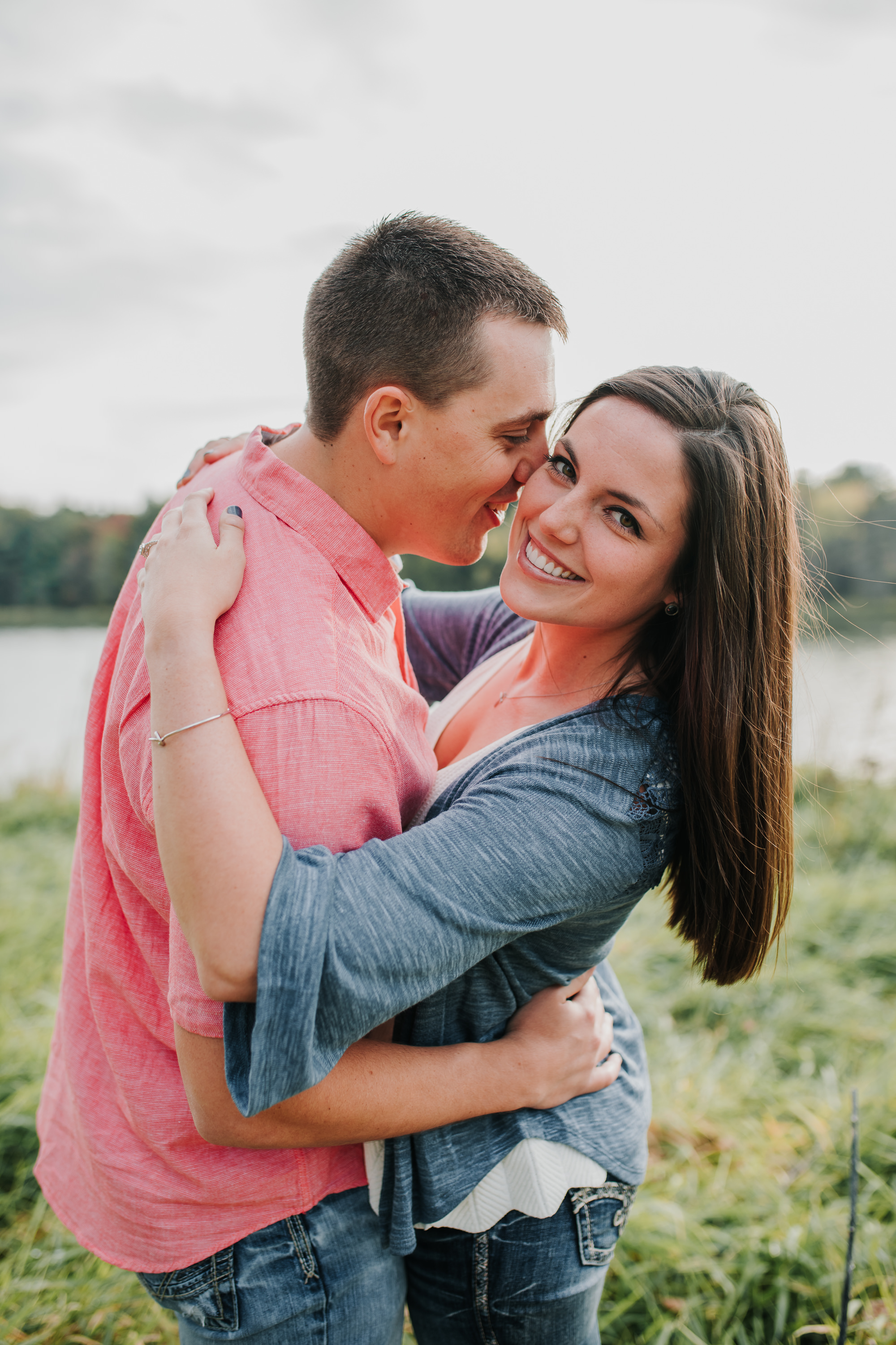 Hannah & Brett - Engaged - Nathaniel Jensen Photography - Omaha Nebraska Wedding Photograper - Omaha Nebraska Engagement Session - Chalco Hills Engagement Session-6.jpg