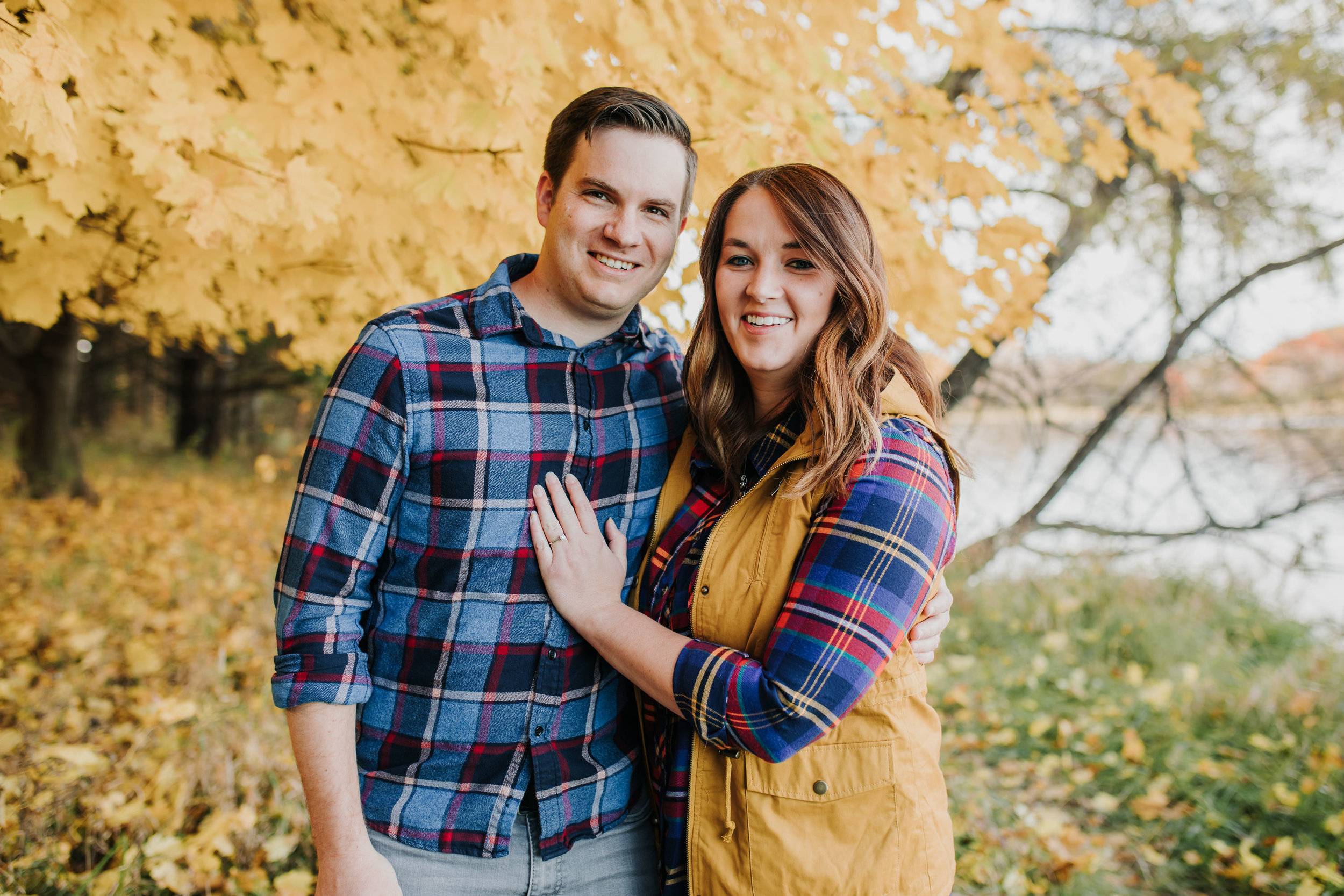 Katie & Adam - Engaged - Nathaniel Jensen Photography - Omaha Nebraska Wedding Photograper - Omaha Nebraska Engagement Session - Chalco Hills Engagement Session-1.jpg