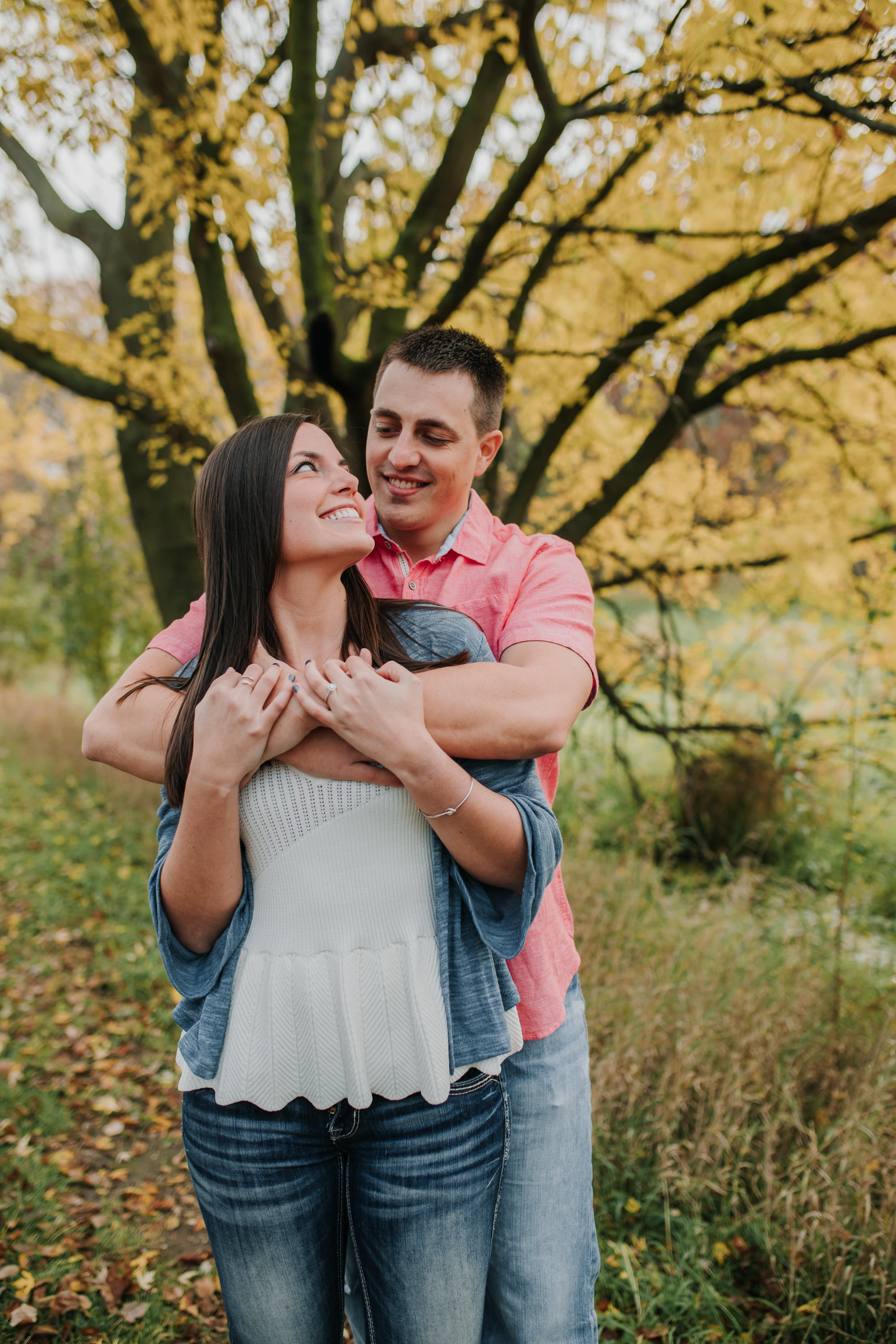 Hannah & Brett - Engaged - Nathaniel Jensen Photography - Omaha Nebraska Wedding Photograper - Omaha Nebraska Engagement Session - Chalco Hills Engagement Session-12.jpg