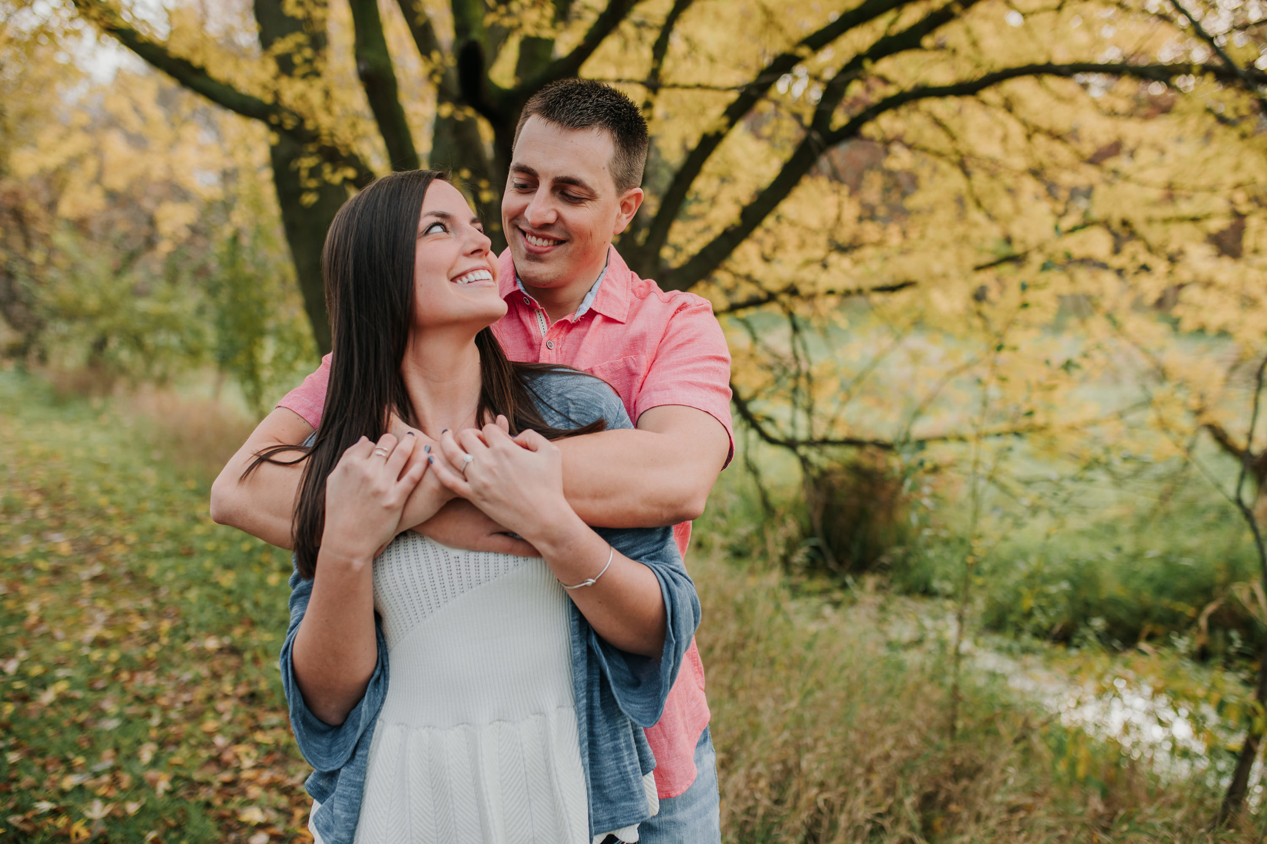 Hannah & Brett - Engaged - Nathaniel Jensen Photography - Omaha Nebraska Wedding Photograper - Omaha Nebraska Engagement Session - Chalco Hills Engagement Session-13.jpg