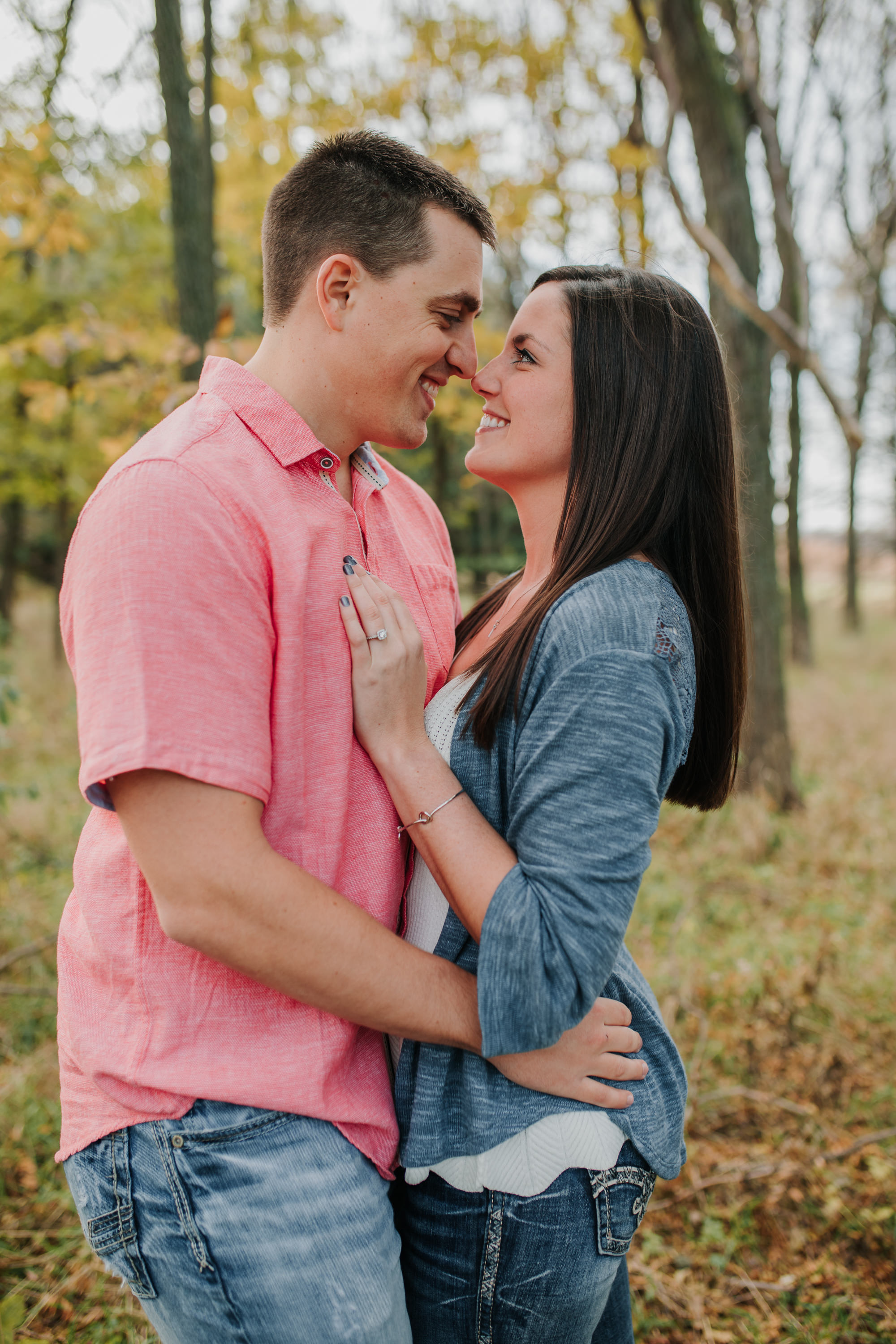 Hannah & Brett - Engaged - Nathaniel Jensen Photography - Omaha Nebraska Wedding Photograper - Omaha Nebraska Engagement Session - Chalco Hills Engagement Session-22.jpg