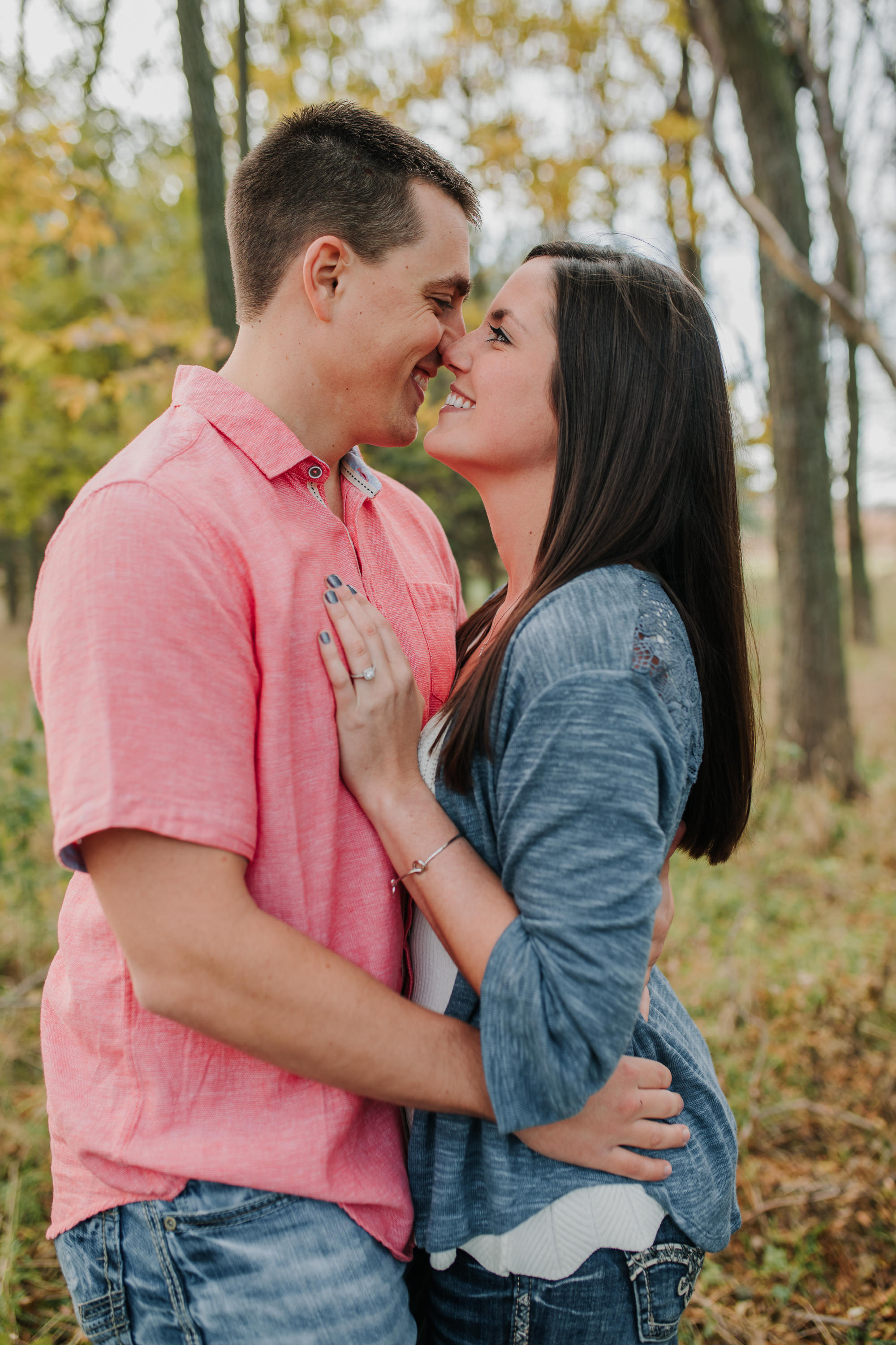 Hannah & Brett - Engaged - Nathaniel Jensen Photography - Omaha Nebraska Wedding Photograper - Omaha Nebraska Engagement Session - Chalco Hills Engagement Session-23.jpg