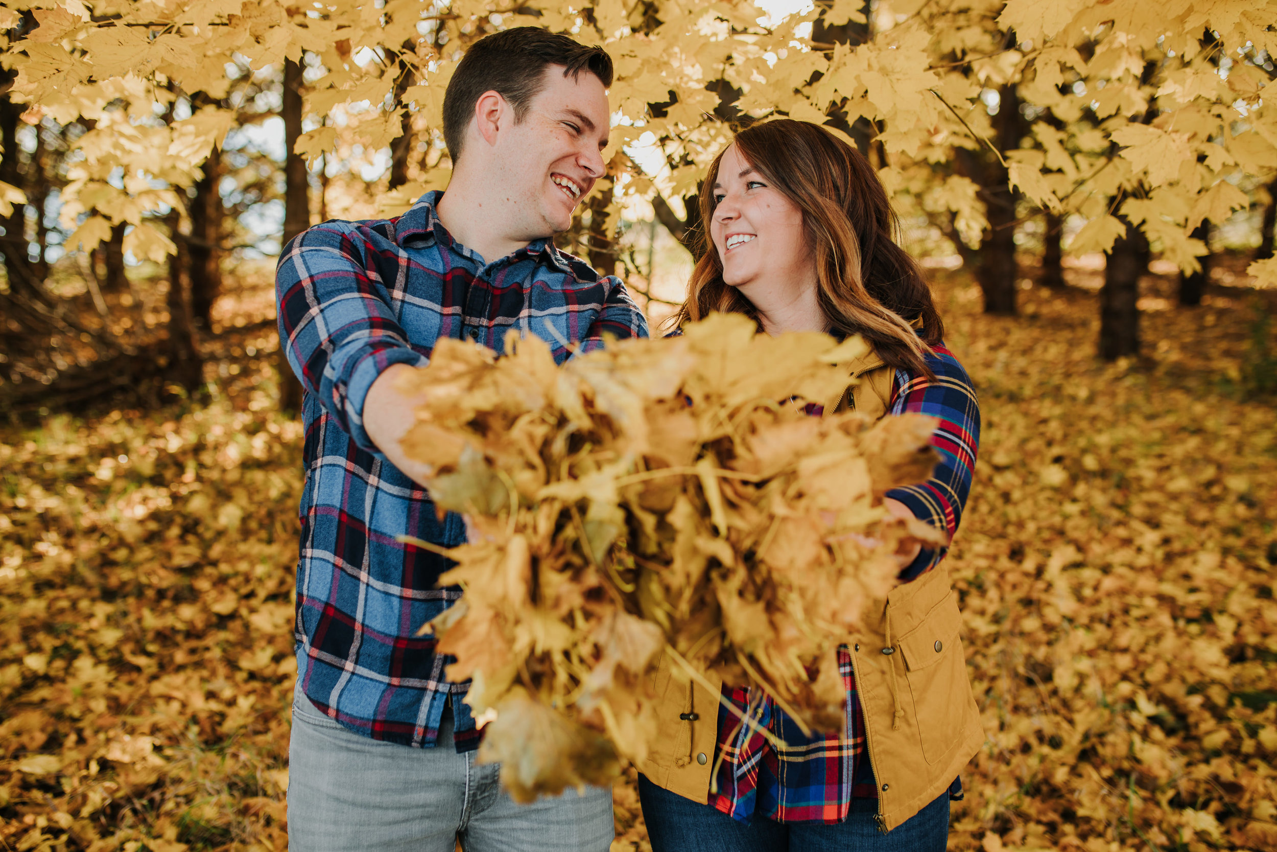 Katie & Adam - Engaged - Nathaniel Jensen Photography - Omaha Nebraska Wedding Photograper - Omaha Nebraska Engagement Session - Chalco Hills Engagement Session-12.jpg