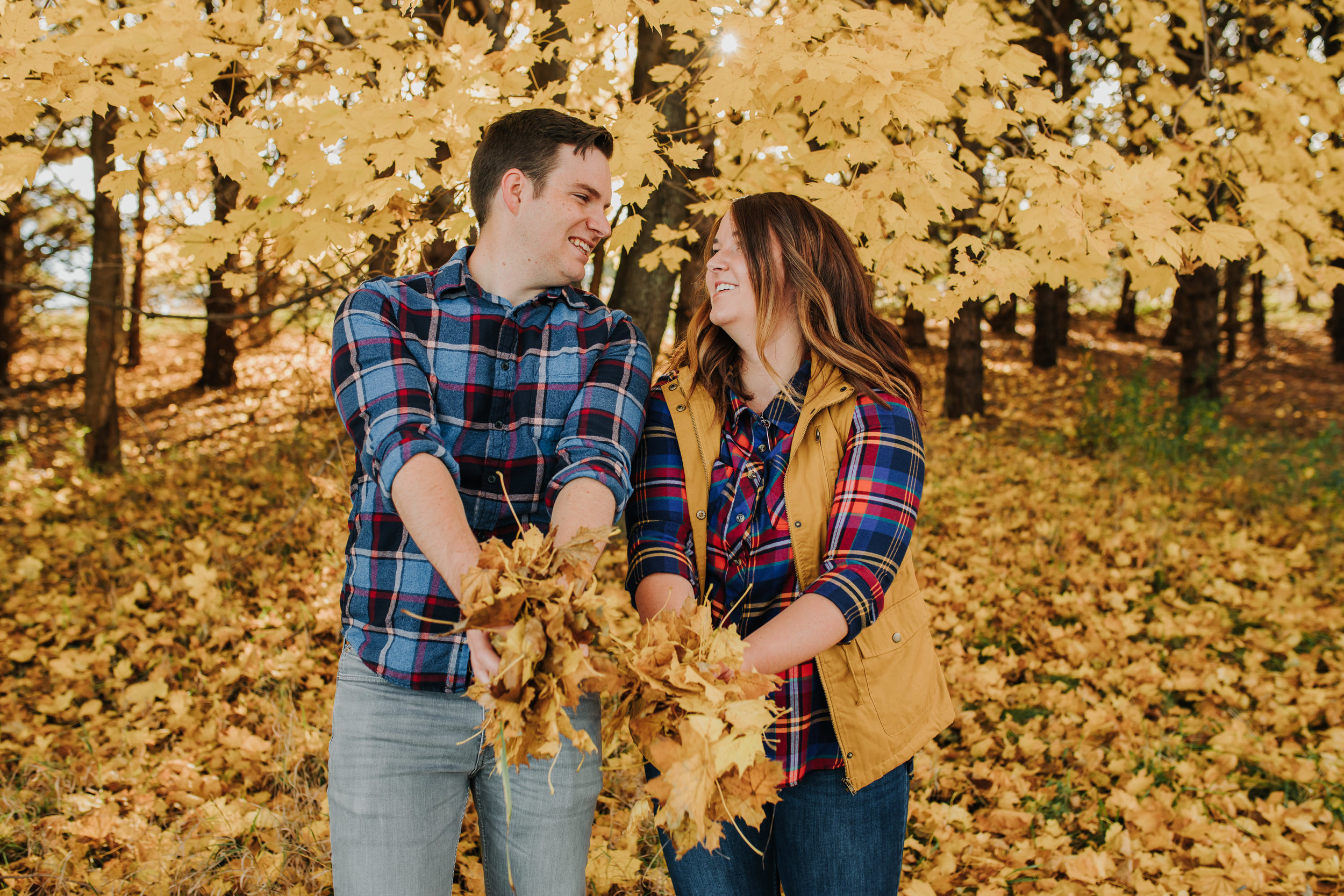 Katie & Adam - Engaged - Nathaniel Jensen Photography - Omaha Nebraska Wedding Photograper - Omaha Nebraska Engagement Session - Chalco Hills Engagement Session-16.jpg