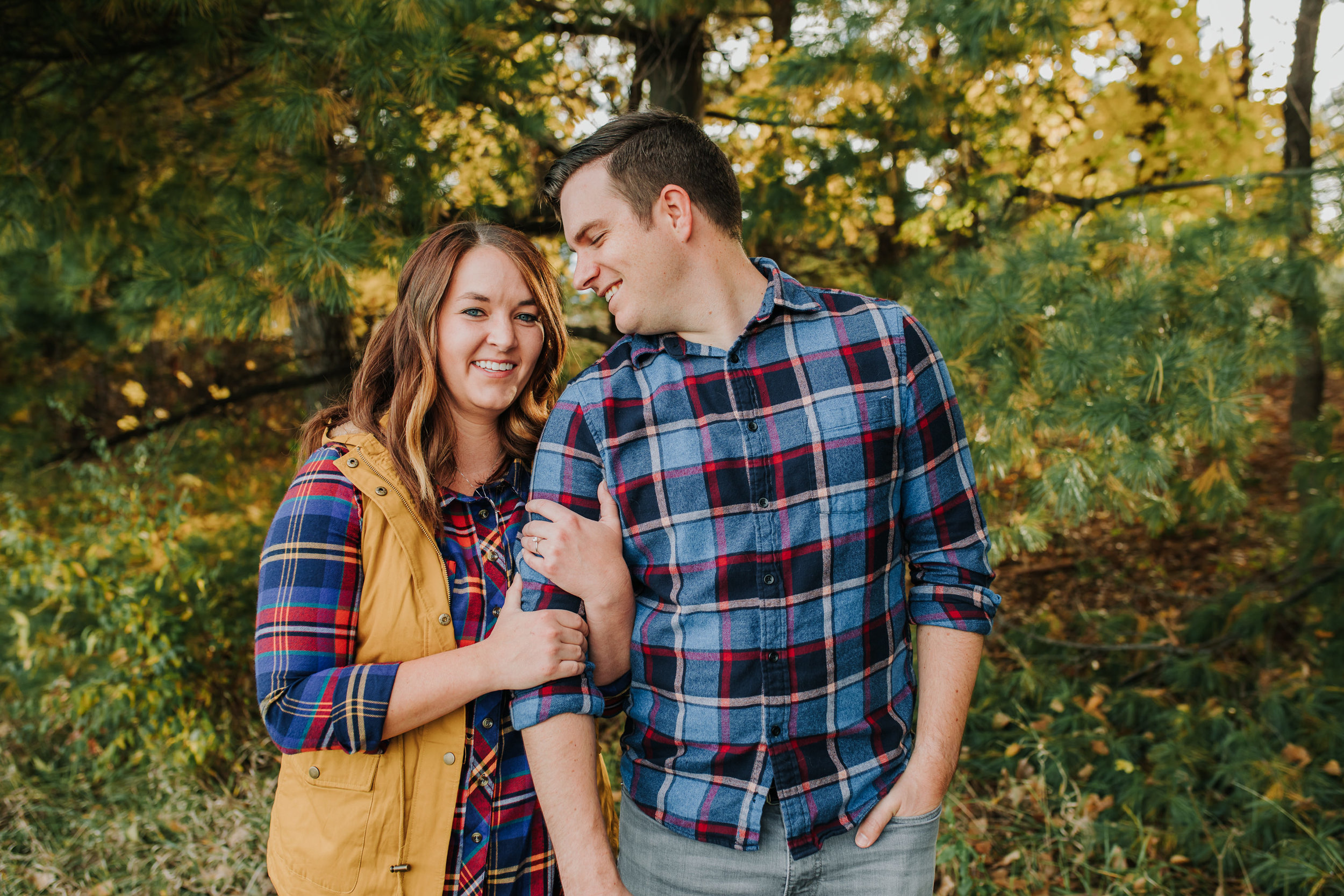 Katie & Adam - Engaged - Nathaniel Jensen Photography - Omaha Nebraska Wedding Photograper - Omaha Nebraska Engagement Session - Chalco Hills Engagement Session-19.jpg