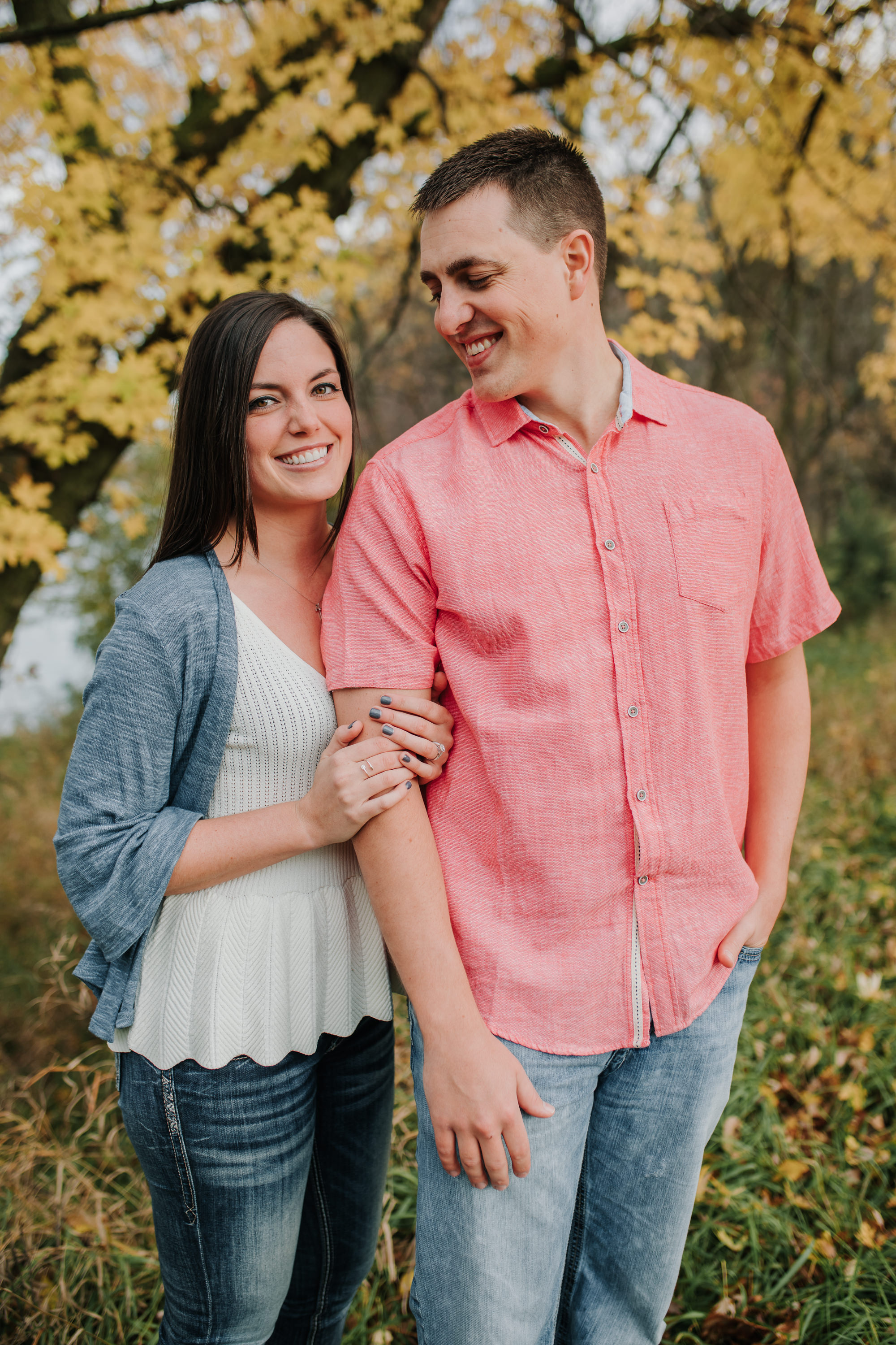 Hannah & Brett - Engaged - Nathaniel Jensen Photography - Omaha Nebraska Wedding Photograper - Omaha Nebraska Engagement Session - Chalco Hills Engagement Session-32.jpg
