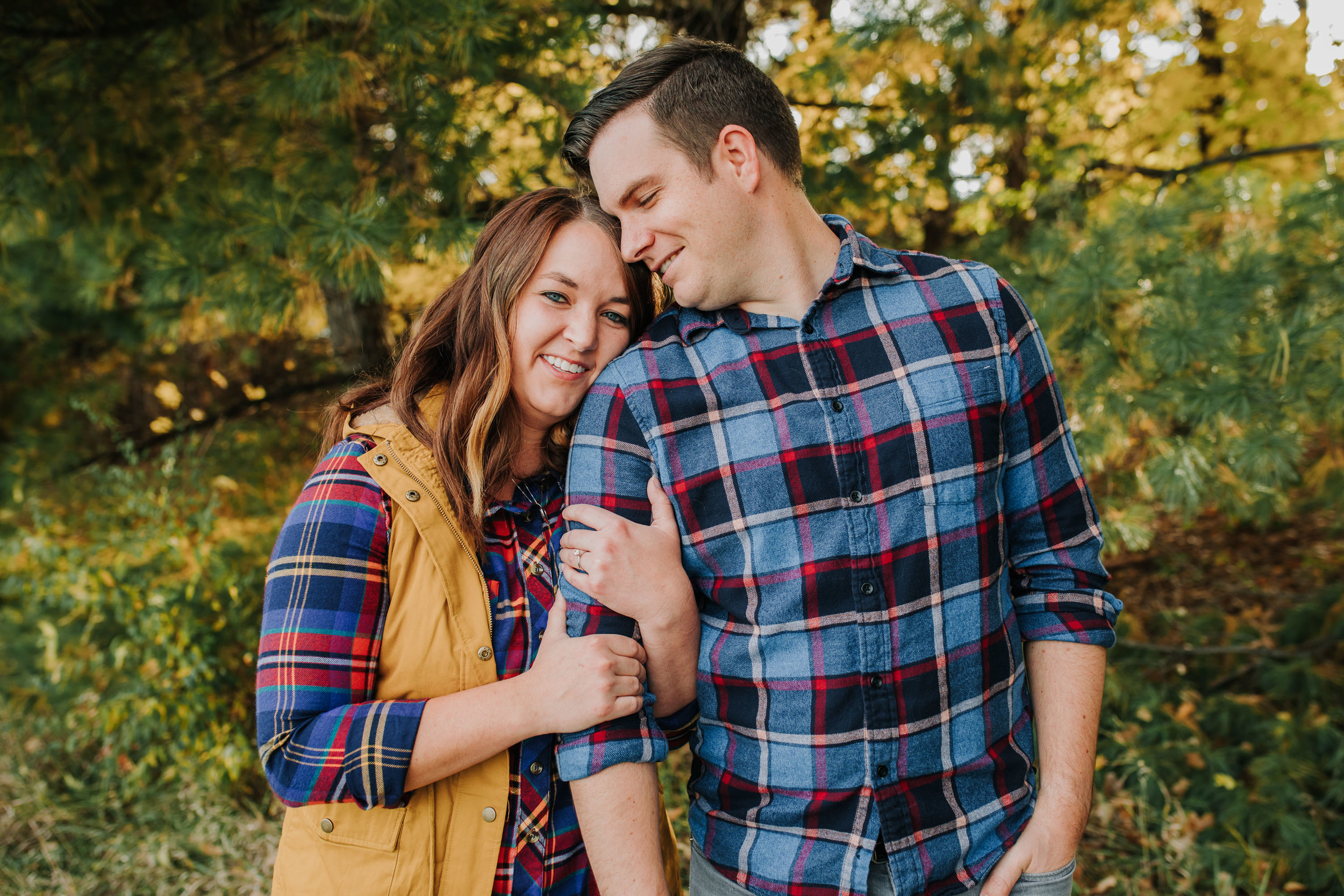 Katie & Adam - Engaged - Nathaniel Jensen Photography - Omaha Nebraska Wedding Photograper - Omaha Nebraska Engagement Session - Chalco Hills Engagement Session-20.jpg