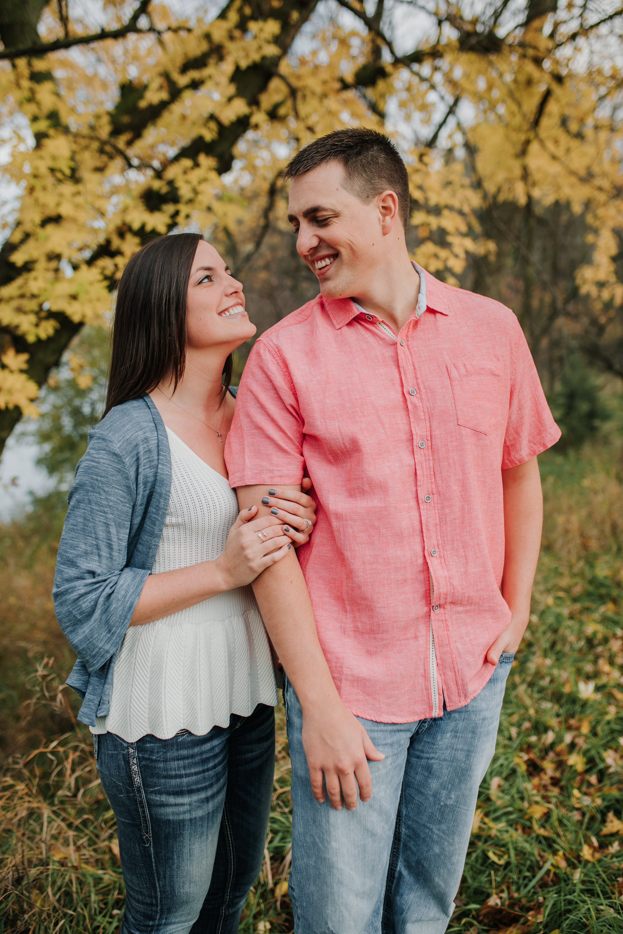 Hannah & Brett - Engaged - Nathaniel Jensen Photography - Omaha Nebraska Wedding Photograper - Omaha Nebraska Engagement Session - Chalco Hills Engagement Session-33.jpg