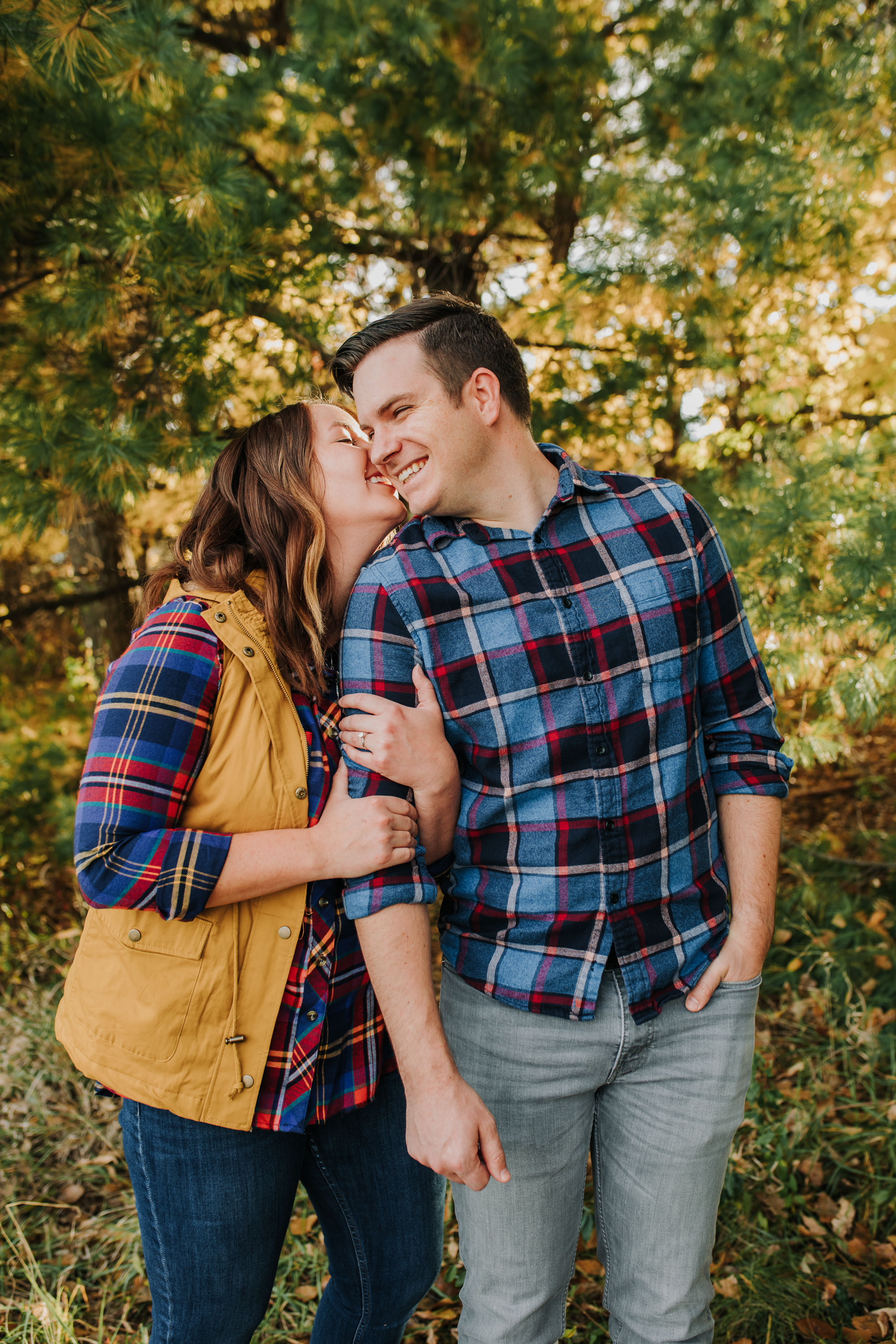 Katie & Adam - Engaged - Nathaniel Jensen Photography - Omaha Nebraska Wedding Photograper - Omaha Nebraska Engagement Session - Chalco Hills Engagement Session-23.jpg