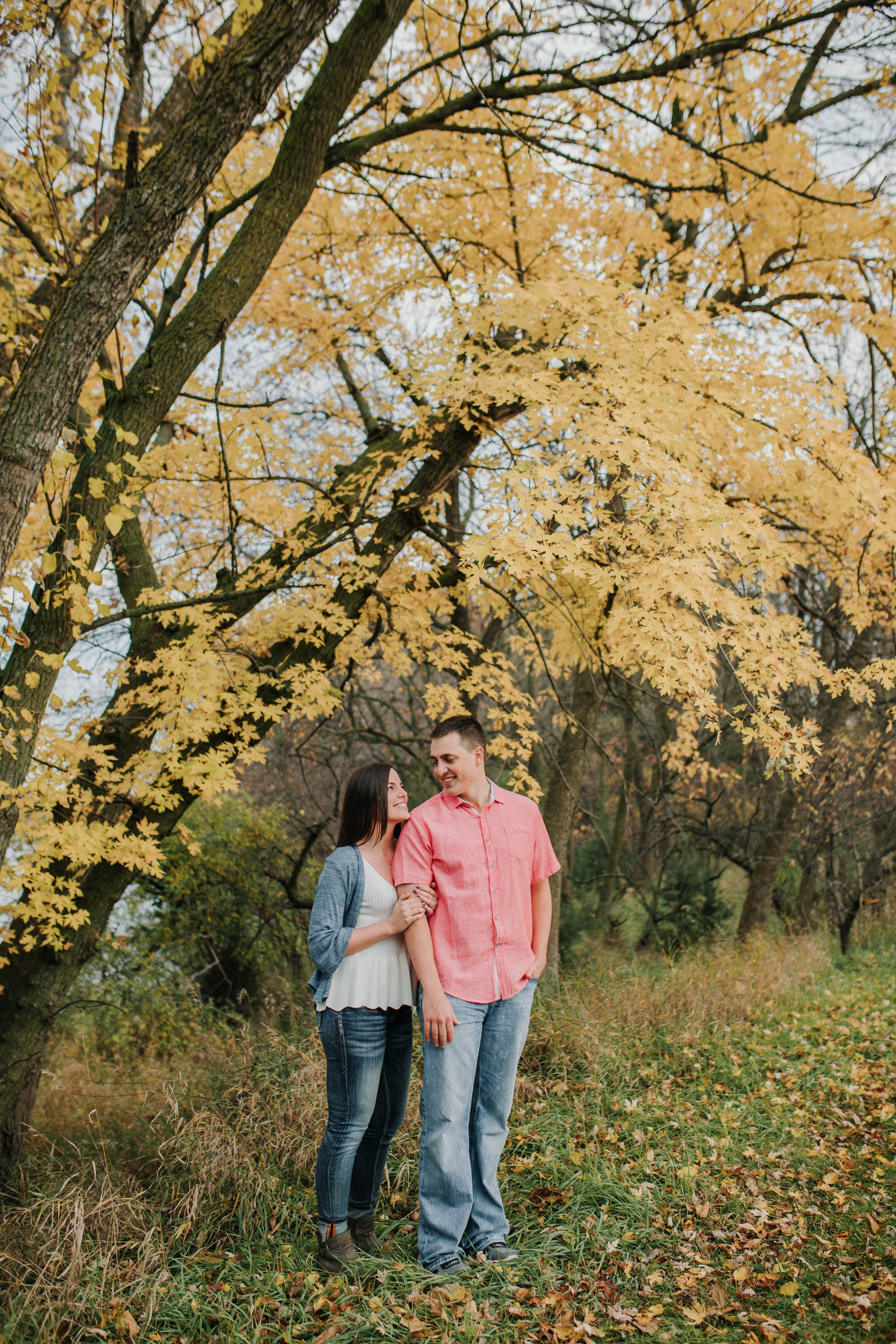 Hannah & Brett - Engaged - Nathaniel Jensen Photography - Omaha Nebraska Wedding Photograper - Omaha Nebraska Engagement Session - Chalco Hills Engagement Session-36.jpg