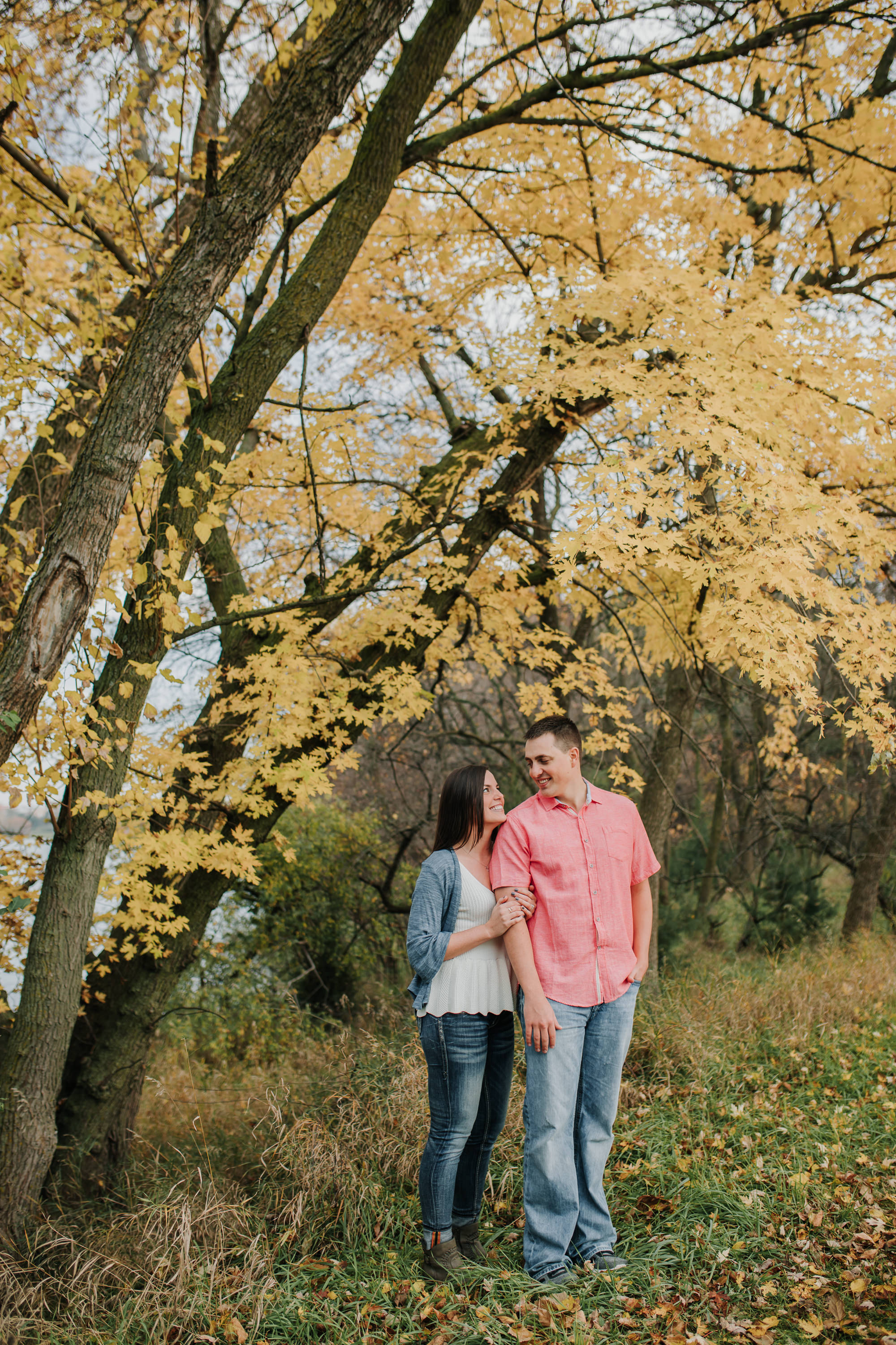 Hannah & Brett - Engaged - Nathaniel Jensen Photography - Omaha Nebraska Wedding Photograper - Omaha Nebraska Engagement Session - Chalco Hills Engagement Session-37.jpg