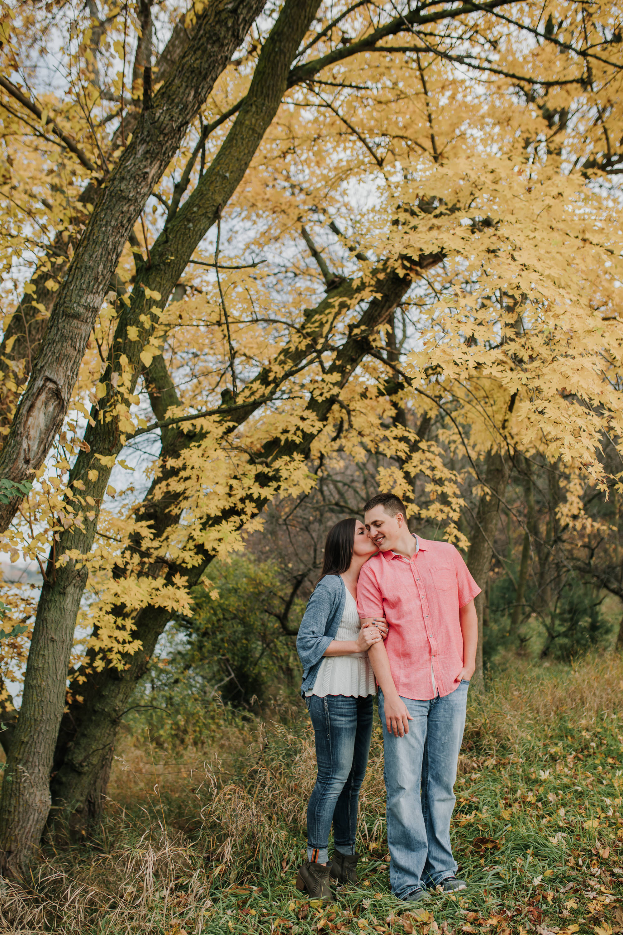Hannah & Brett - Engaged - Nathaniel Jensen Photography - Omaha Nebraska Wedding Photograper - Omaha Nebraska Engagement Session - Chalco Hills Engagement Session-38.jpg