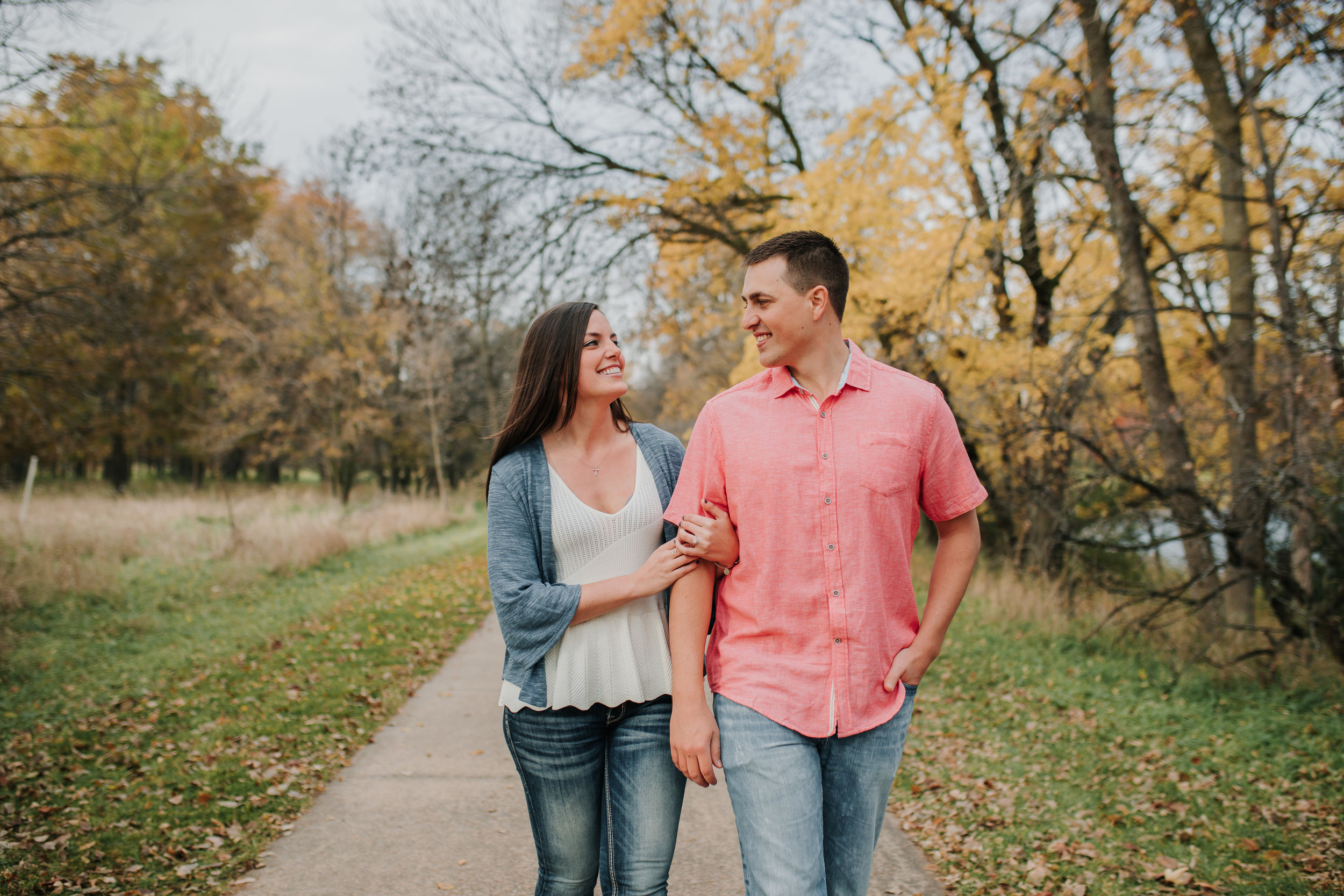 Hannah & Brett - Engaged - Nathaniel Jensen Photography - Omaha Nebraska Wedding Photograper - Omaha Nebraska Engagement Session - Chalco Hills Engagement Session-40.jpg