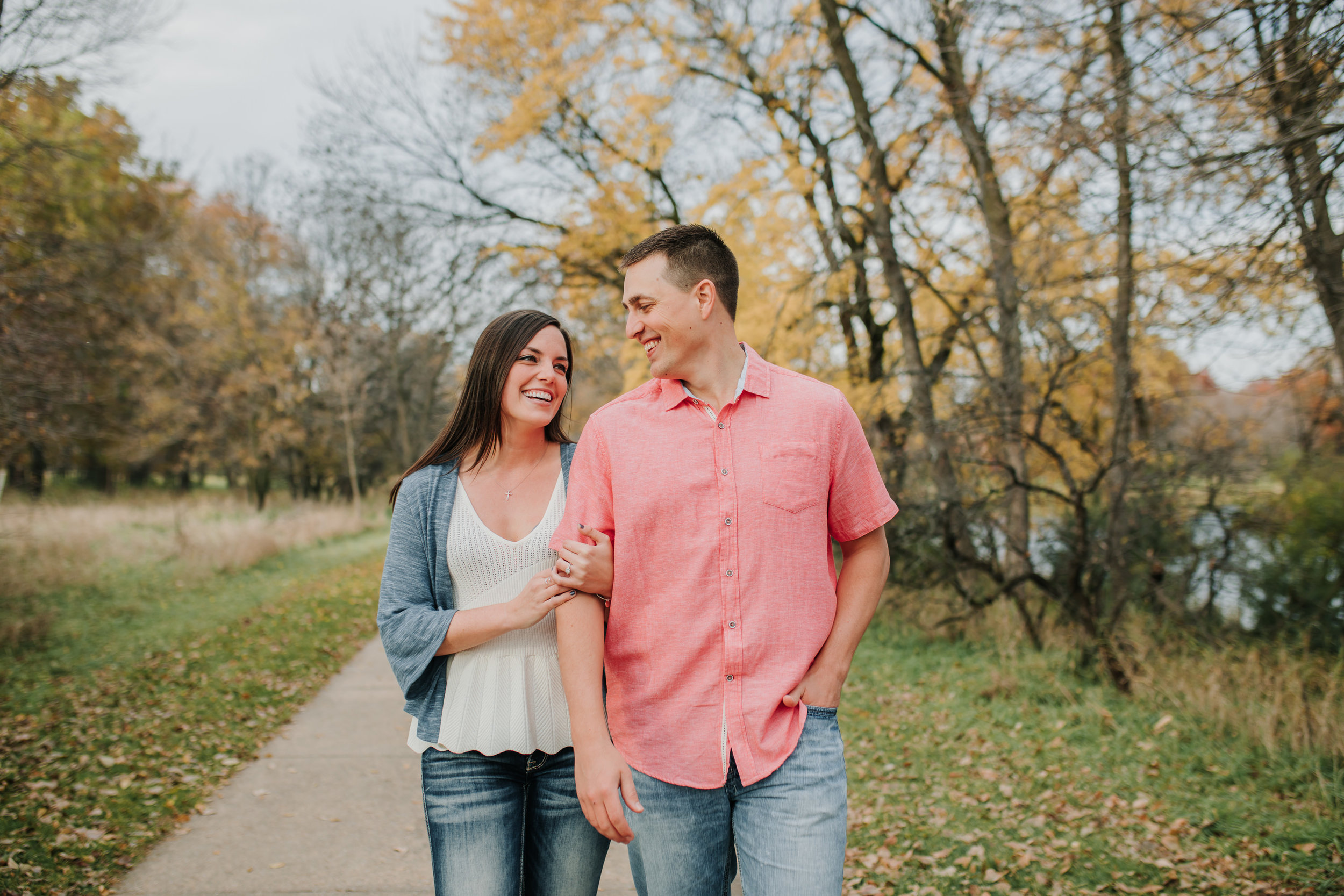 Hannah & Brett - Engaged - Nathaniel Jensen Photography - Omaha Nebraska Wedding Photograper - Omaha Nebraska Engagement Session - Chalco Hills Engagement Session-41.jpg