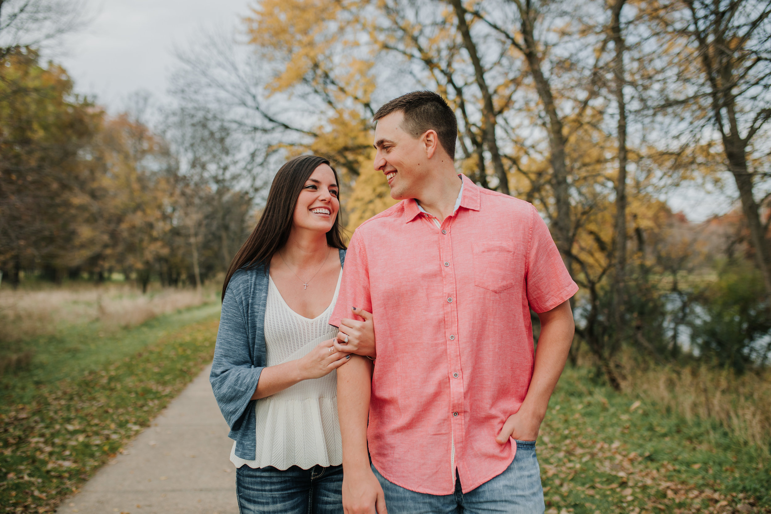 Hannah & Brett - Engaged - Nathaniel Jensen Photography - Omaha Nebraska Wedding Photograper - Omaha Nebraska Engagement Session - Chalco Hills Engagement Session-43.jpg