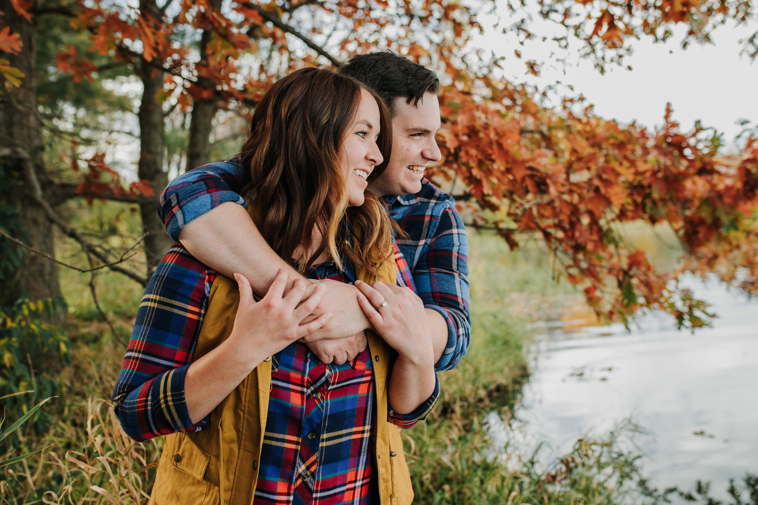 Katie & Adam - Engaged - Nathaniel Jensen Photography - Omaha Nebraska Wedding Photograper - Omaha Nebraska Engagement Session - Chalco Hills Engagement Session-31.jpg