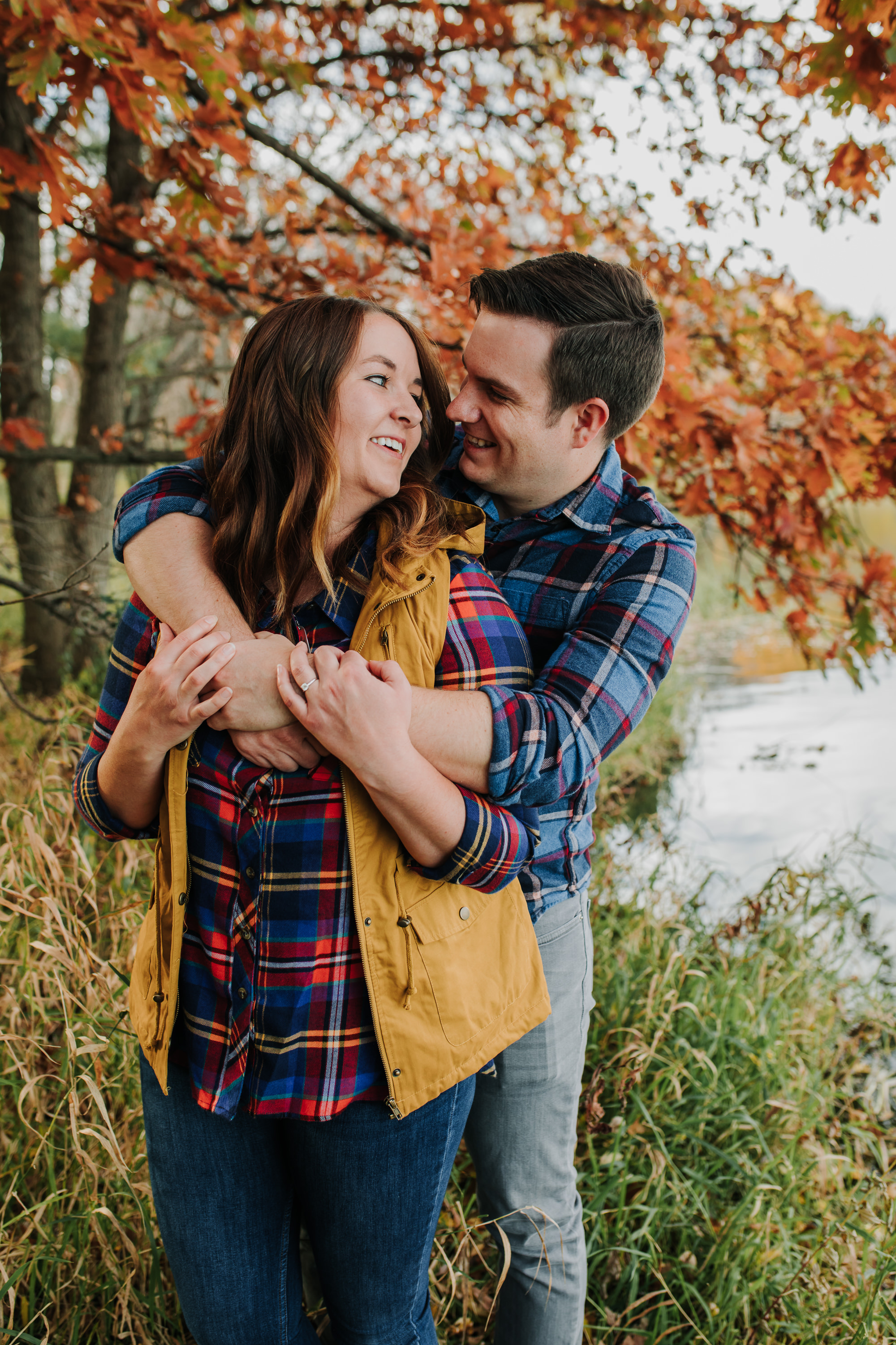 Katie & Adam - Engaged - Nathaniel Jensen Photography - Omaha Nebraska Wedding Photograper - Omaha Nebraska Engagement Session - Chalco Hills Engagement Session-32.jpg