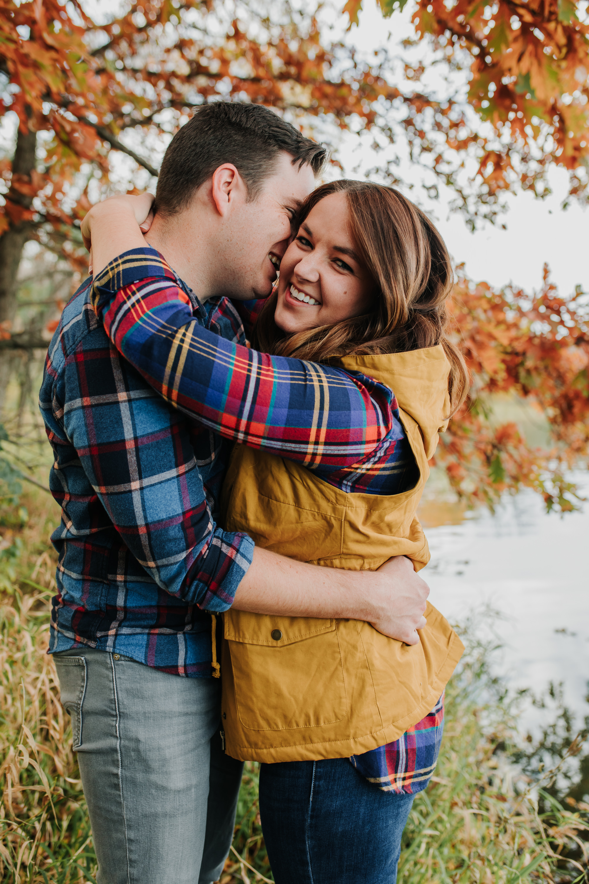 Katie & Adam - Engaged - Nathaniel Jensen Photography - Omaha Nebraska Wedding Photograper - Omaha Nebraska Engagement Session - Chalco Hills Engagement Session-34.jpg