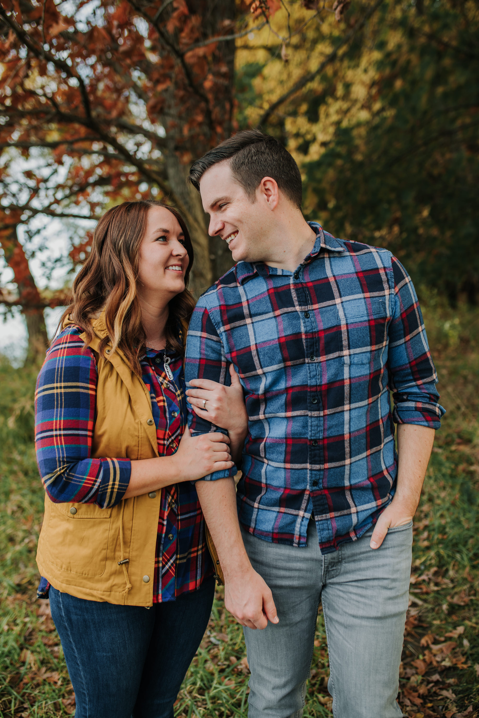 Katie & Adam - Engaged - Nathaniel Jensen Photography - Omaha Nebraska Wedding Photograper - Omaha Nebraska Engagement Session - Chalco Hills Engagement Session-39.jpg