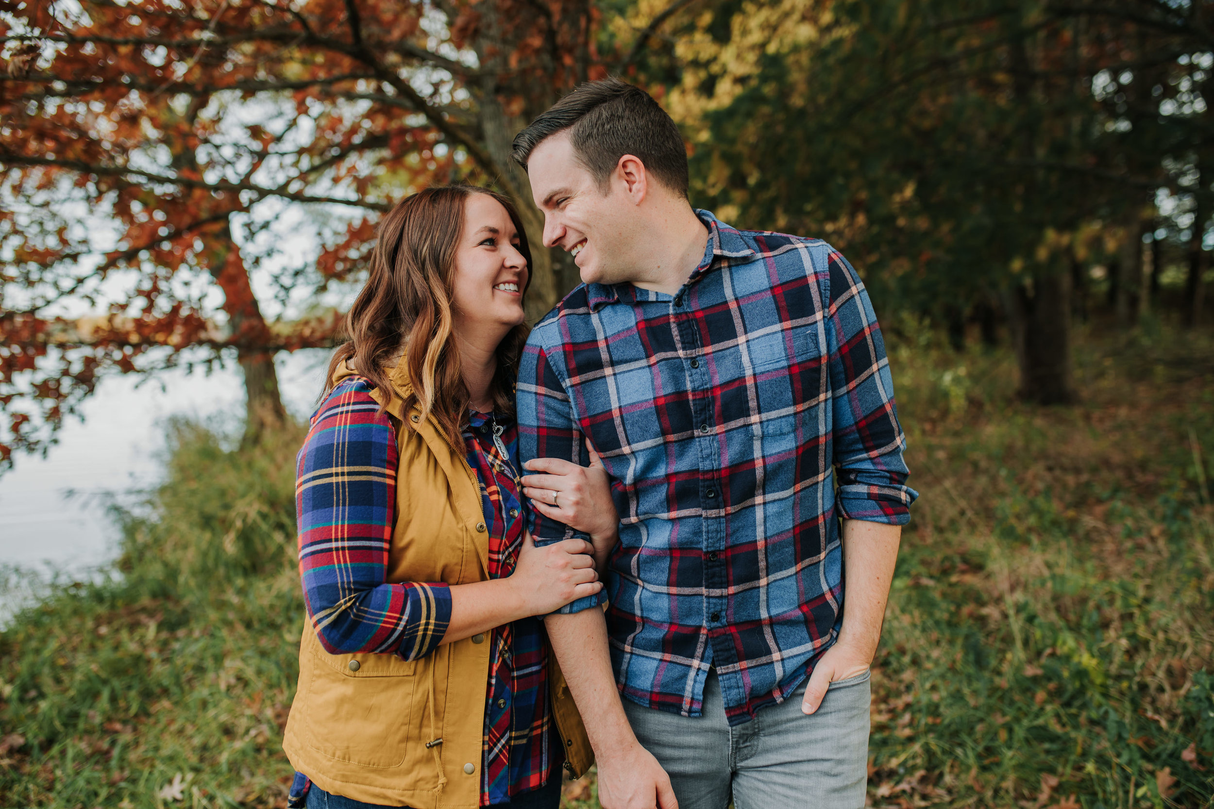 Katie & Adam - Engaged - Nathaniel Jensen Photography - Omaha Nebraska Wedding Photograper - Omaha Nebraska Engagement Session - Chalco Hills Engagement Session-40.jpg