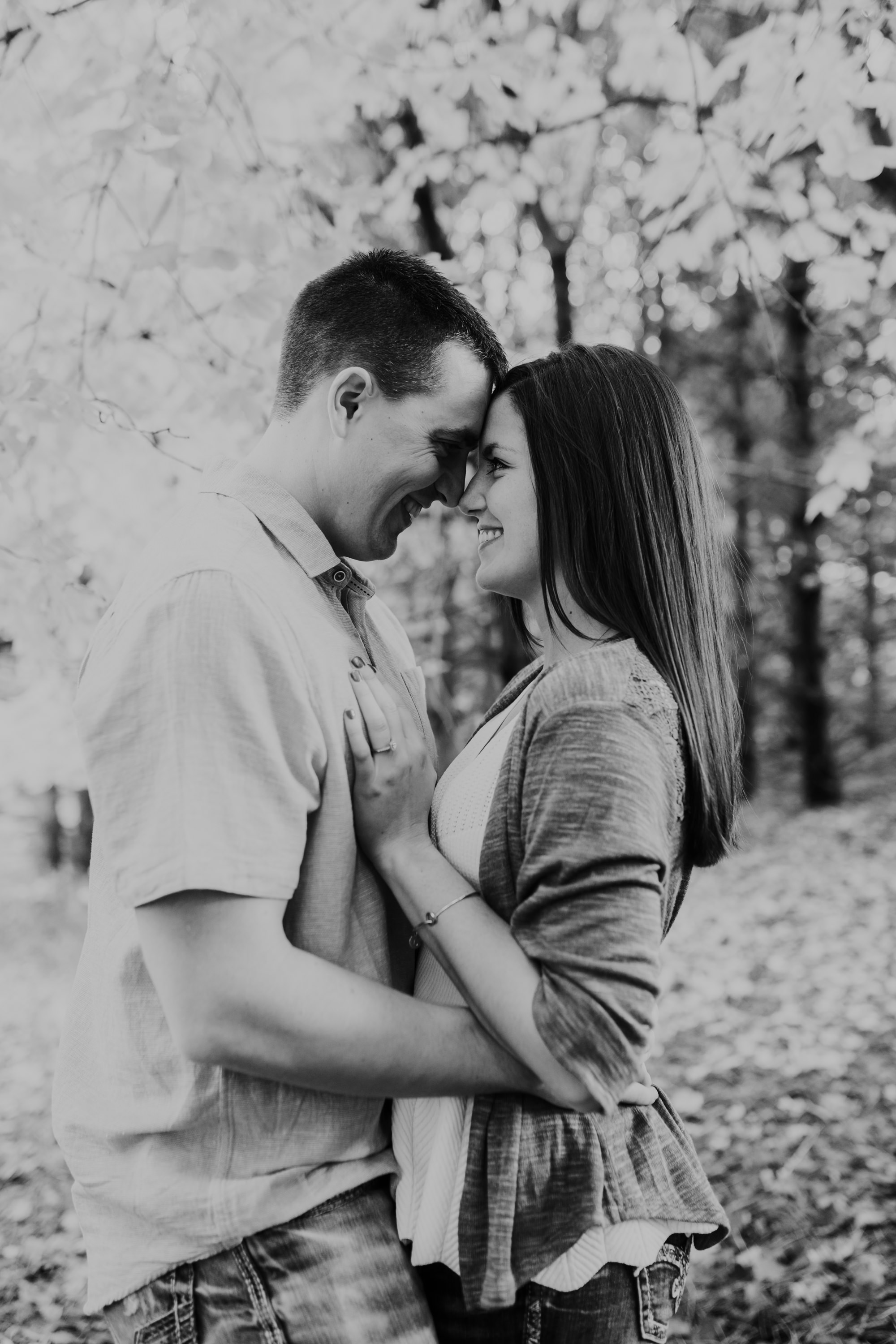 Hannah & Brett - Engaged - Nathaniel Jensen Photography - Omaha Nebraska Wedding Photograper - Omaha Nebraska Engagement Session - Chalco Hills Engagement Session-55.jpg