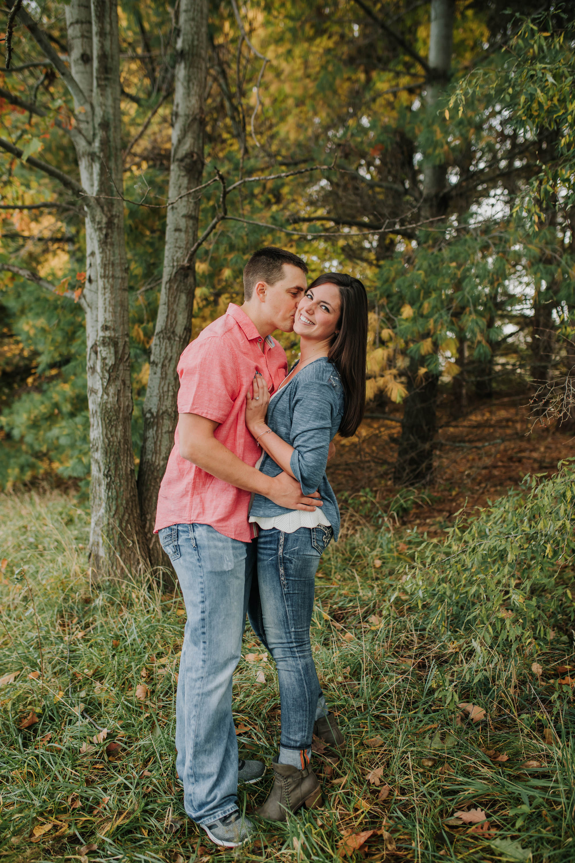 Hannah & Brett - Engaged - Nathaniel Jensen Photography - Omaha Nebraska Wedding Photograper - Omaha Nebraska Engagement Session - Chalco Hills Engagement Session-63.jpg
