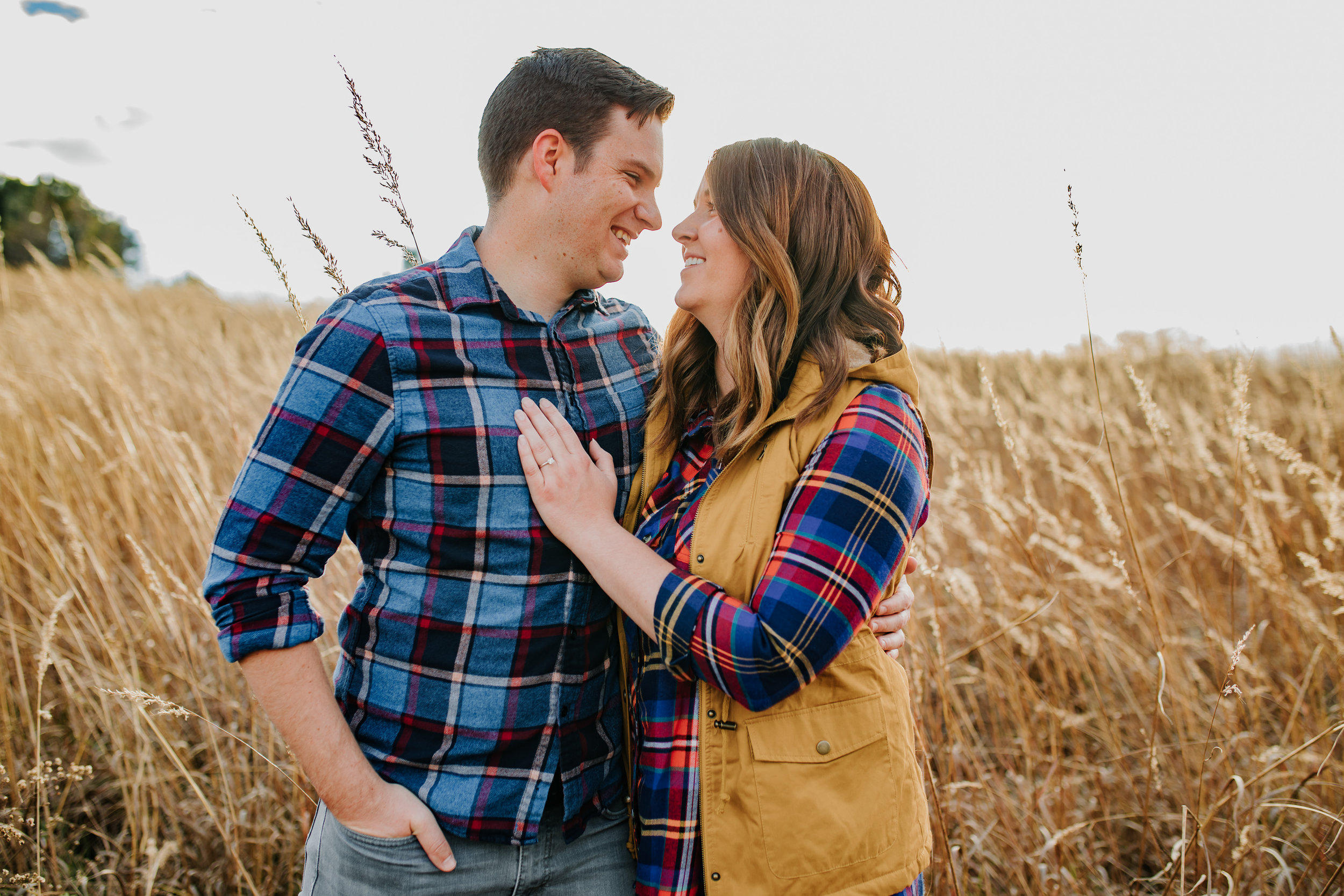 Katie & Adam - Engaged - Nathaniel Jensen Photography - Omaha Nebraska Wedding Photograper - Omaha Nebraska Engagement Session - Chalco Hills Engagement Session-50.jpg