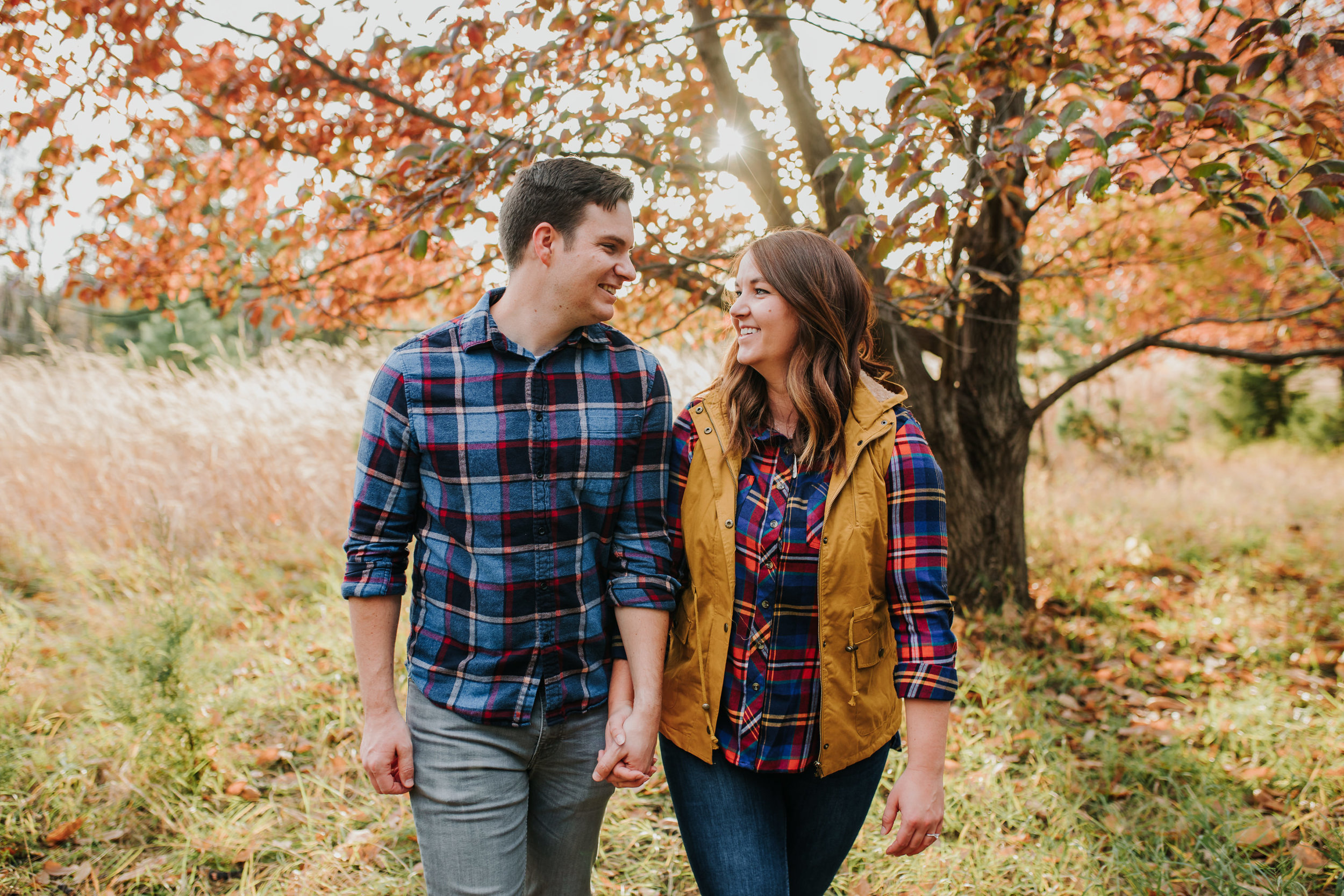 Katie & Adam - Engaged - Nathaniel Jensen Photography - Omaha Nebraska Wedding Photograper - Omaha Nebraska Engagement Session - Chalco Hills Engagement Session-70.jpg