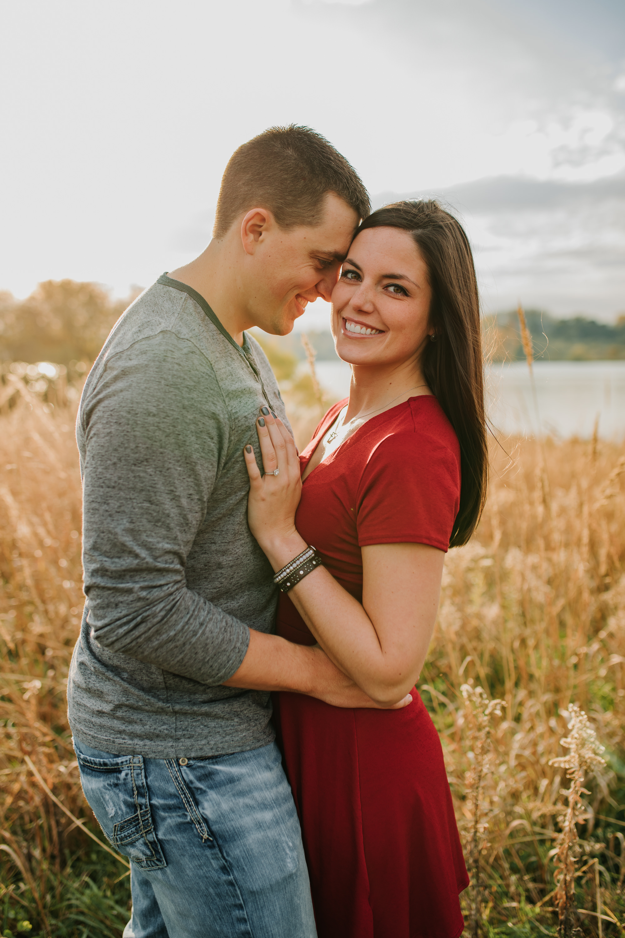 Hannah & Brett - Engaged - Nathaniel Jensen Photography - Omaha Nebraska Wedding Photograper - Omaha Nebraska Engagement Session - Chalco Hills Engagement Session-86.jpg