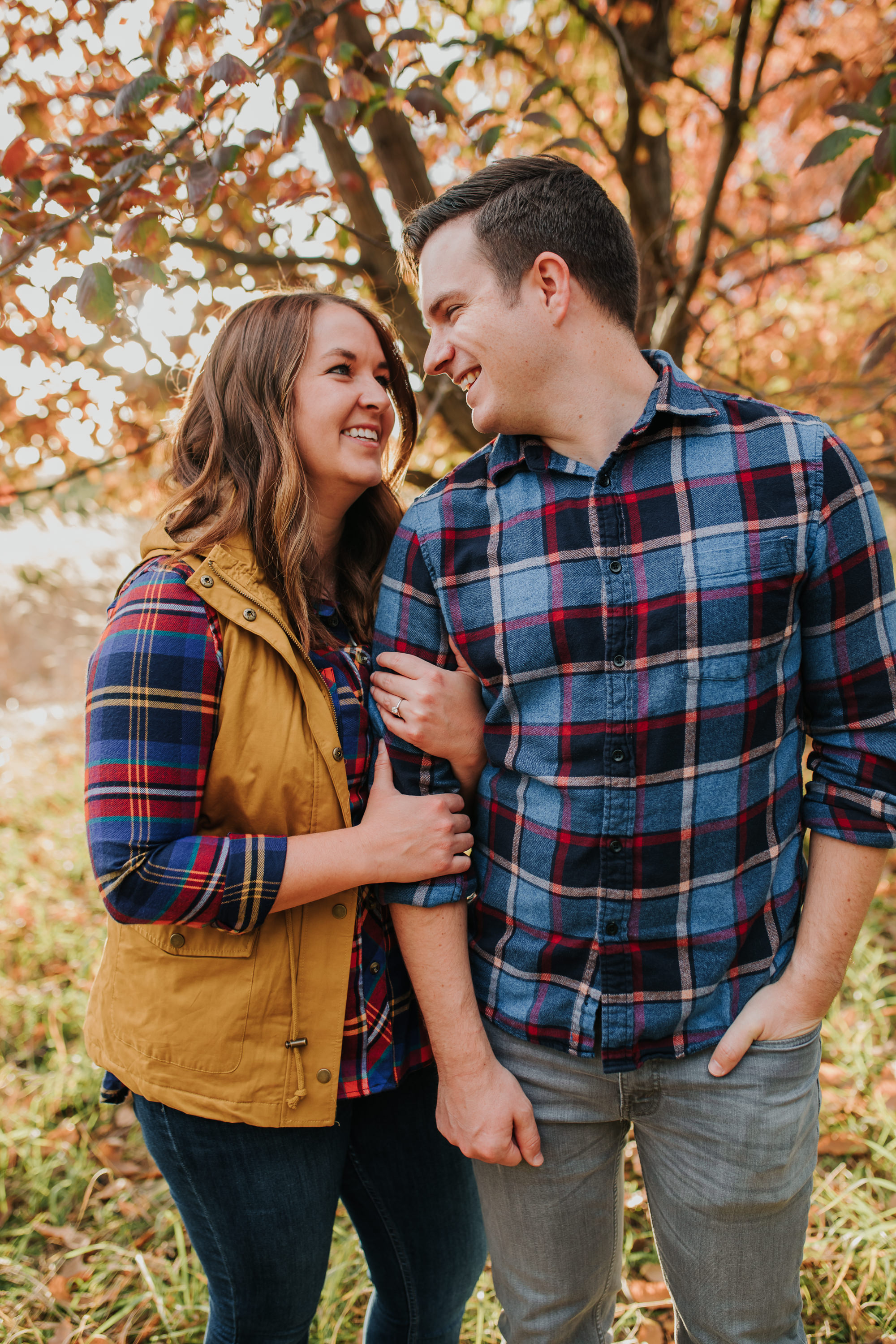 Katie & Adam - Engaged - Nathaniel Jensen Photography - Omaha Nebraska Wedding Photograper - Omaha Nebraska Engagement Session - Chalco Hills Engagement Session-74.jpg