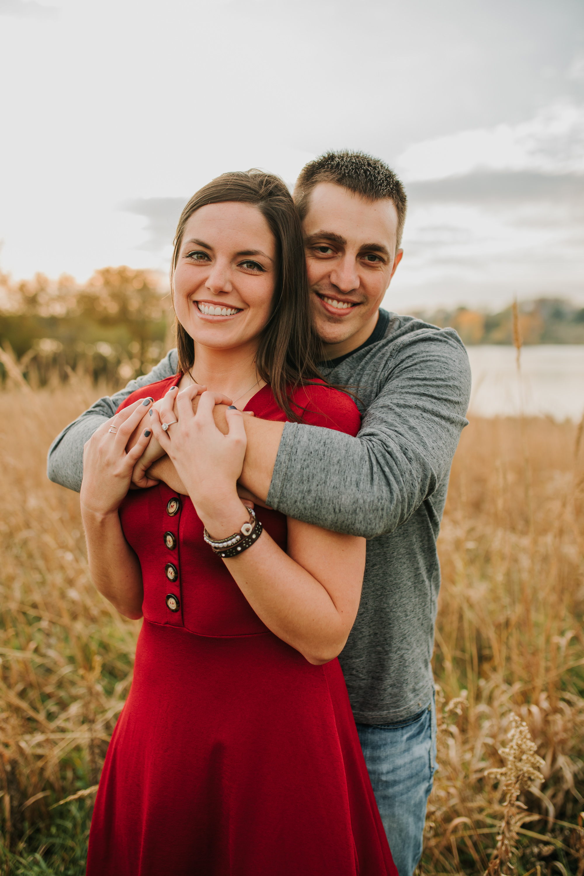 Hannah & Brett - Engaged - Nathaniel Jensen Photography - Omaha Nebraska Wedding Photograper - Omaha Nebraska Engagement Session - Chalco Hills Engagement Session-92.jpg