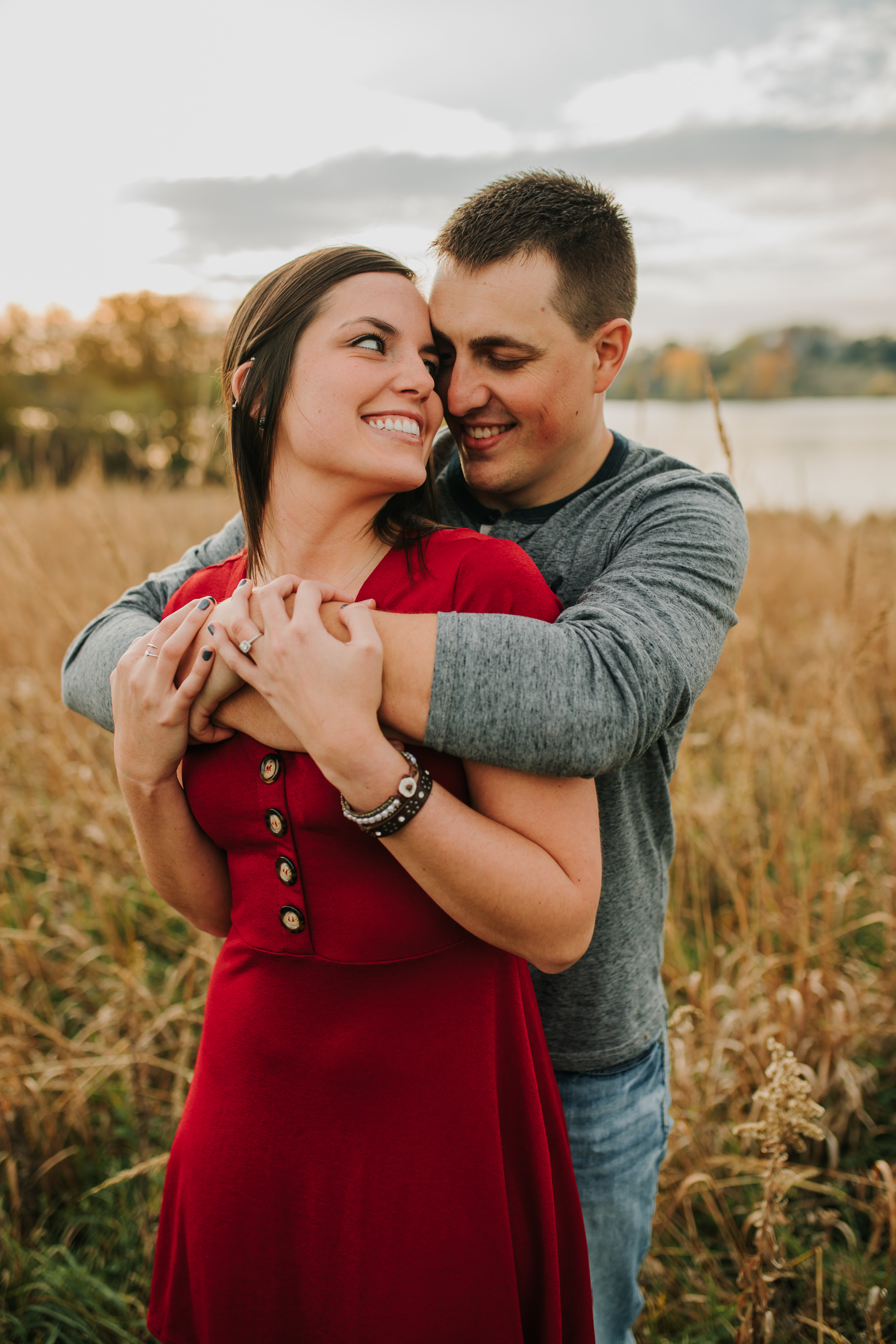 Hannah & Brett - Engaged - Nathaniel Jensen Photography - Omaha Nebraska Wedding Photograper - Omaha Nebraska Engagement Session - Chalco Hills Engagement Session-93.jpg