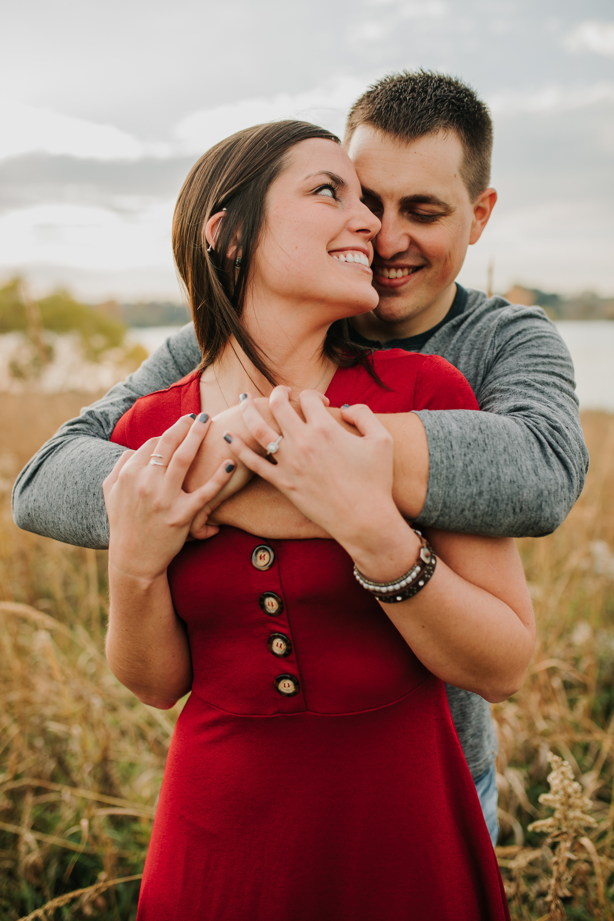 Hannah & Brett - Engaged - Nathaniel Jensen Photography - Omaha Nebraska Wedding Photograper - Omaha Nebraska Engagement Session - Chalco Hills Engagement Session-94.jpg