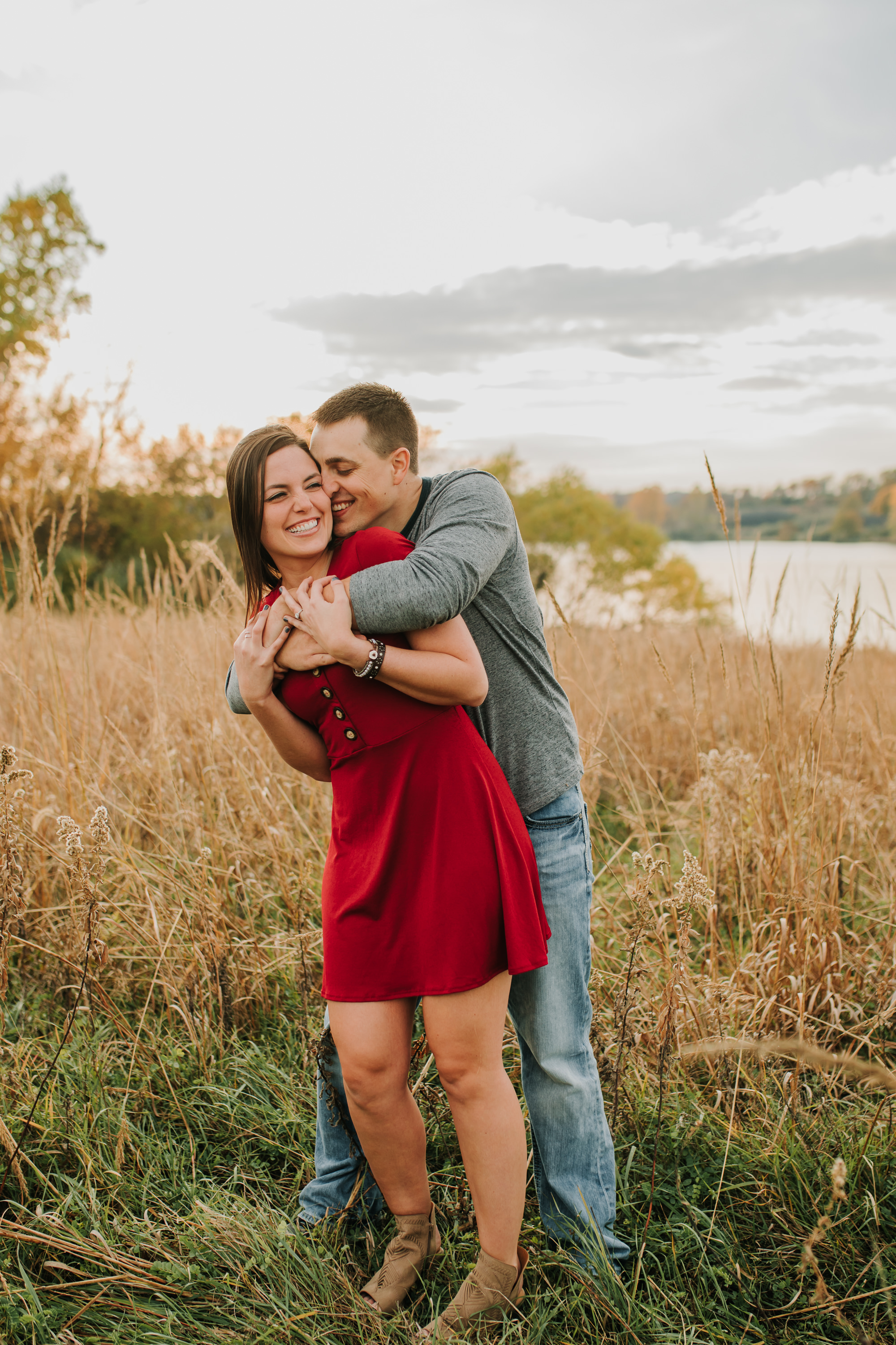 Hannah & Brett - Engaged - Nathaniel Jensen Photography - Omaha Nebraska Wedding Photograper - Omaha Nebraska Engagement Session - Chalco Hills Engagement Session-98.jpg