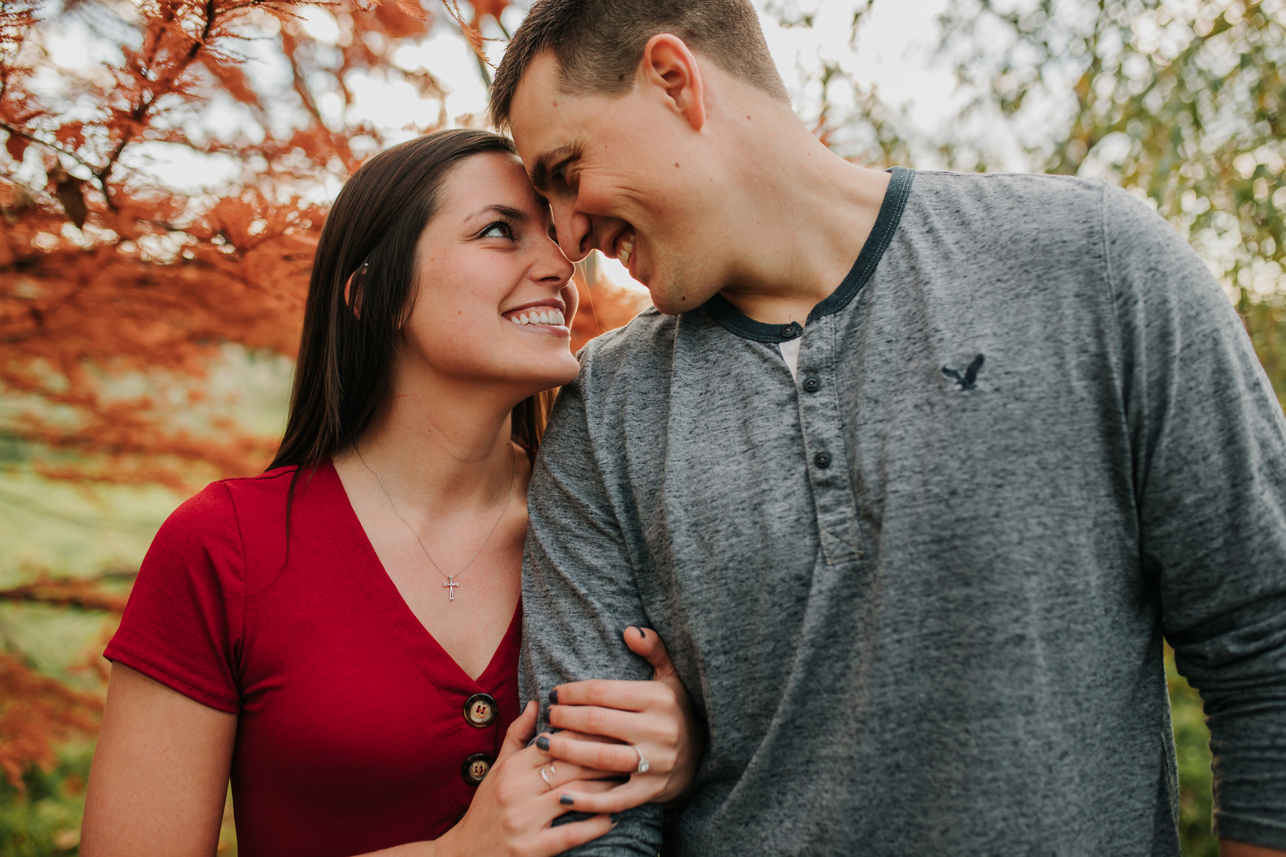 Hannah & Brett - Engaged - Nathaniel Jensen Photography - Omaha Nebraska Wedding Photograper - Omaha Nebraska Engagement Session - Chalco Hills Engagement Session-119.jpg