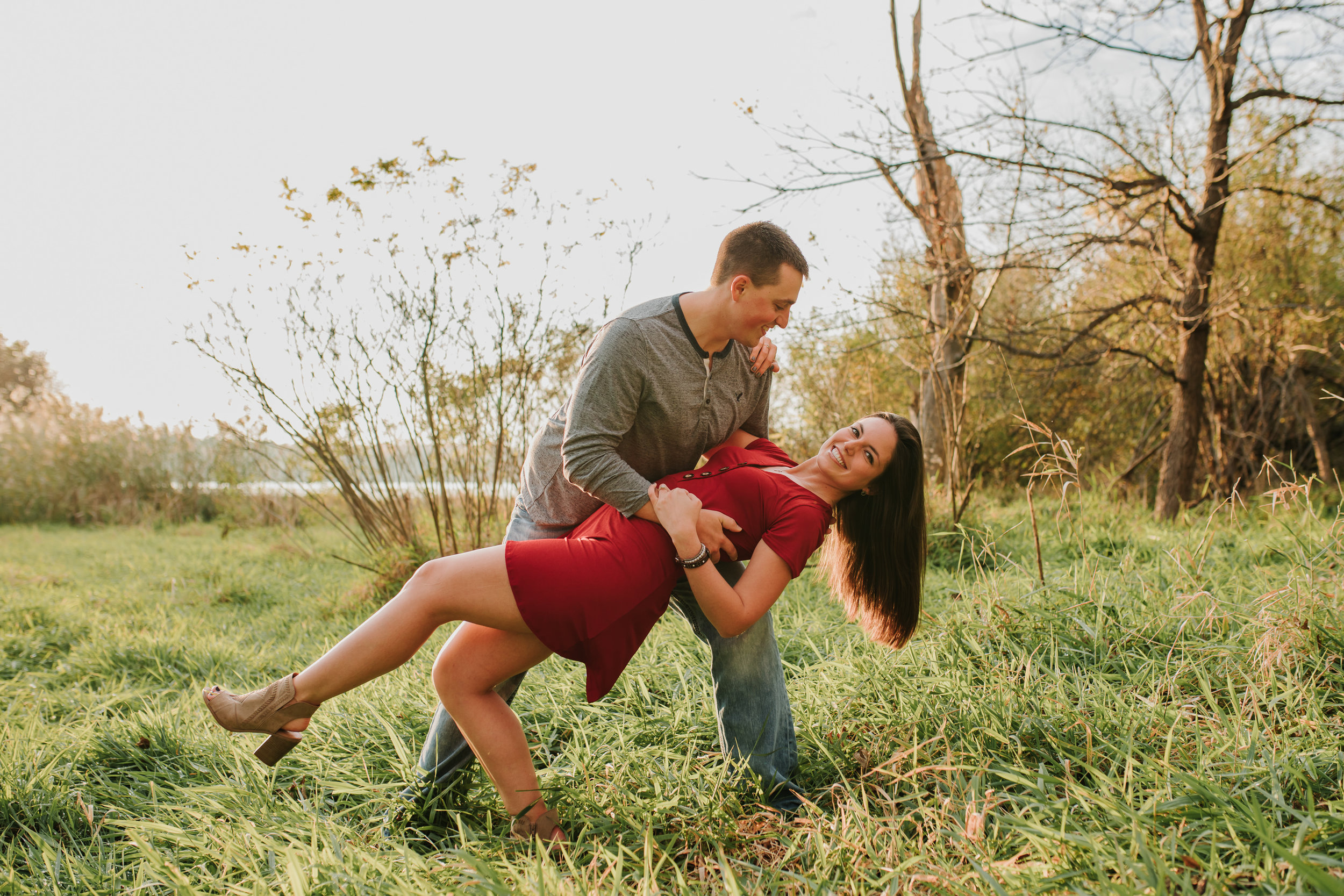 Hannah & Brett - Engaged - Nathaniel Jensen Photography - Omaha Nebraska Wedding Photograper - Omaha Nebraska Engagement Session - Chalco Hills Engagement Session-128.jpg