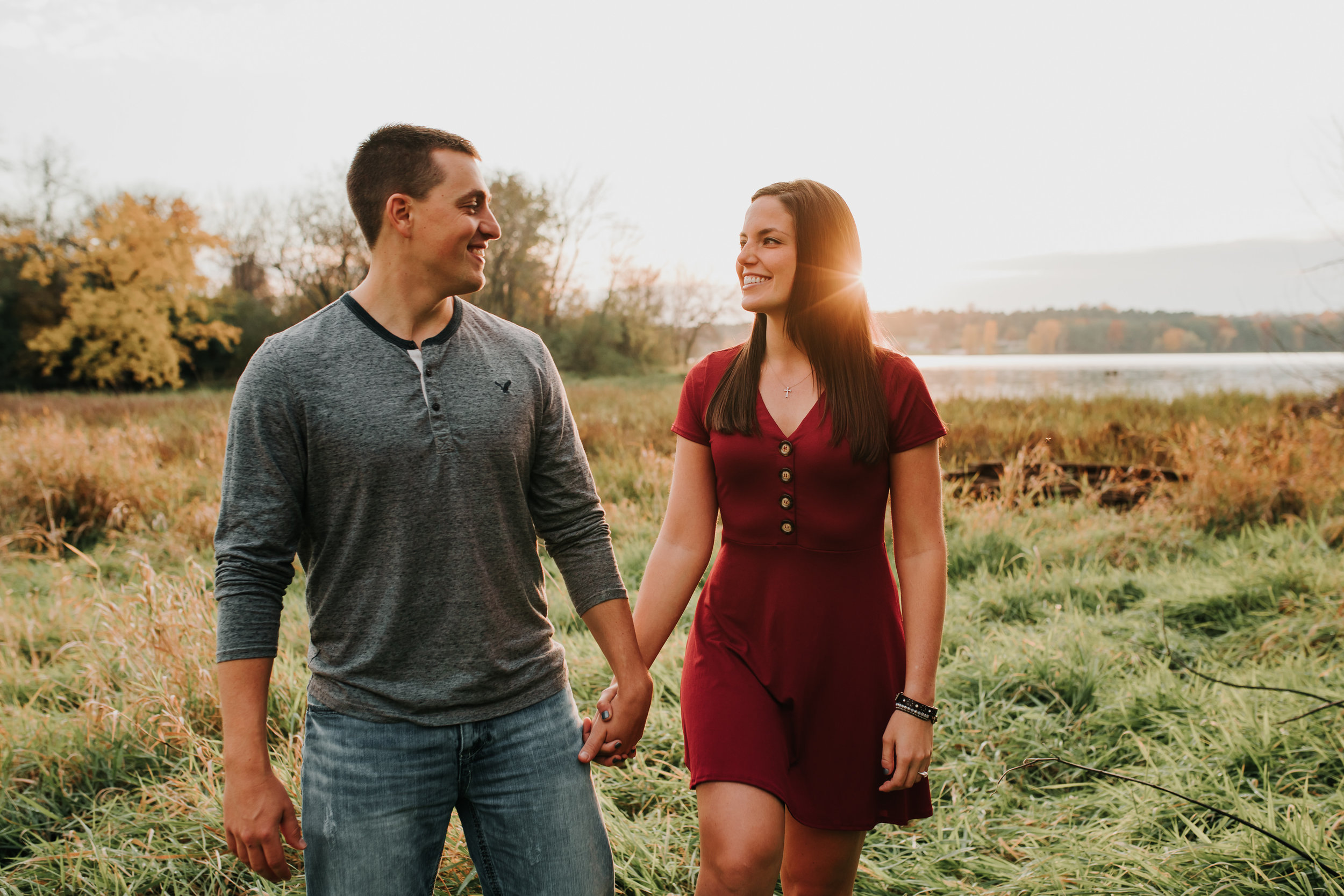 Hannah & Brett - Engaged - Nathaniel Jensen Photography - Omaha Nebraska Wedding Photograper - Omaha Nebraska Engagement Session - Chalco Hills Engagement Session-156.jpg